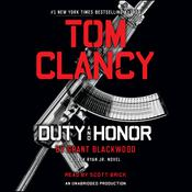 Tom Clancy Duty and Honor: A Jack Ryan Jr. Novel Audiobook, by Grant Blackwood