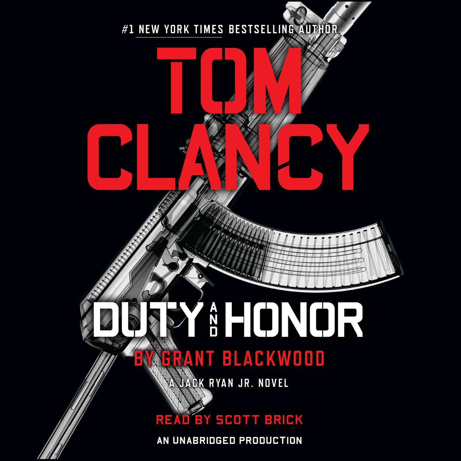 Printable Tom Clancy Duty and Honor: A Jack Ryan Jr. Novel Audiobook Cover Art