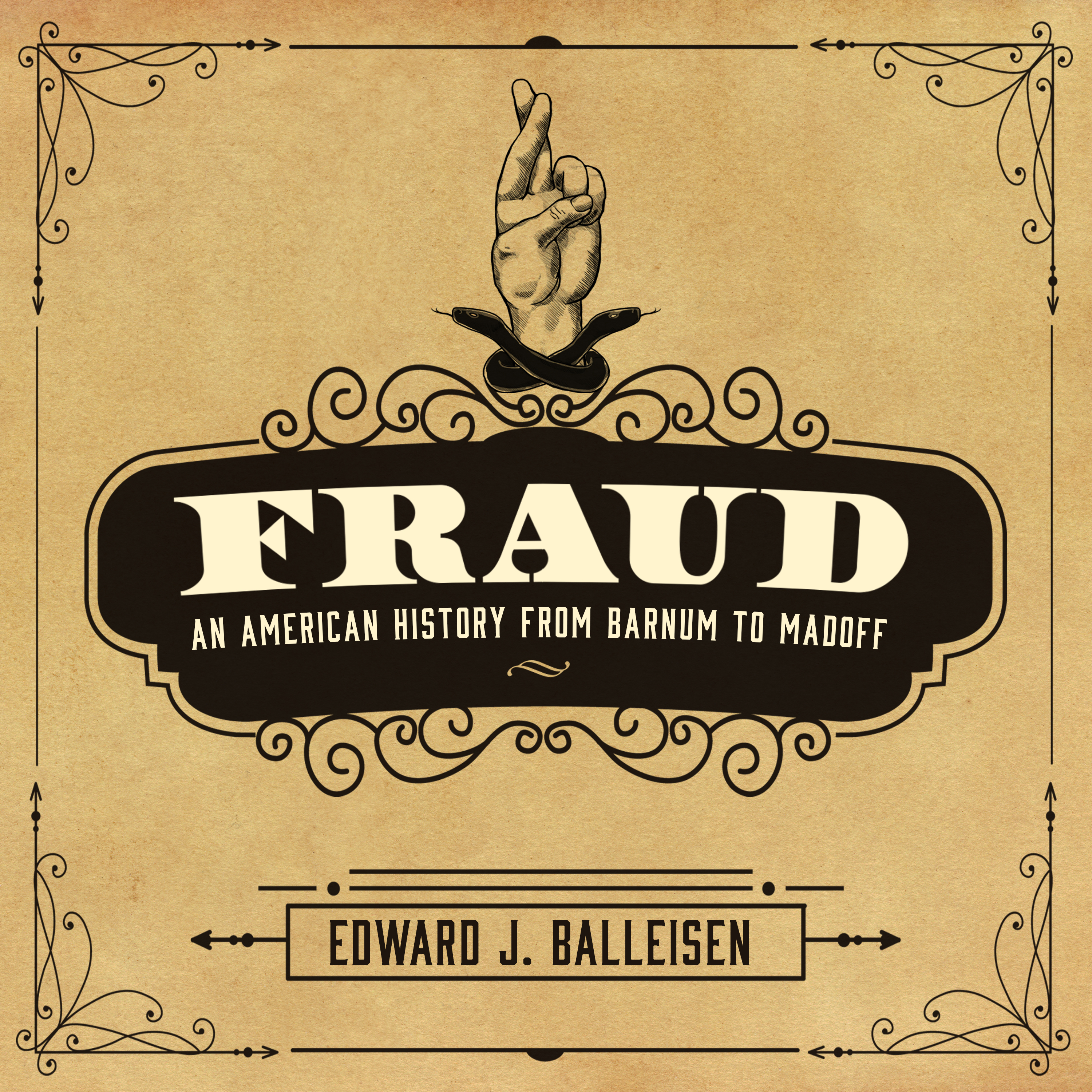 Printable Fraud: An American History from Barnum to Madoff Audiobook Cover Art