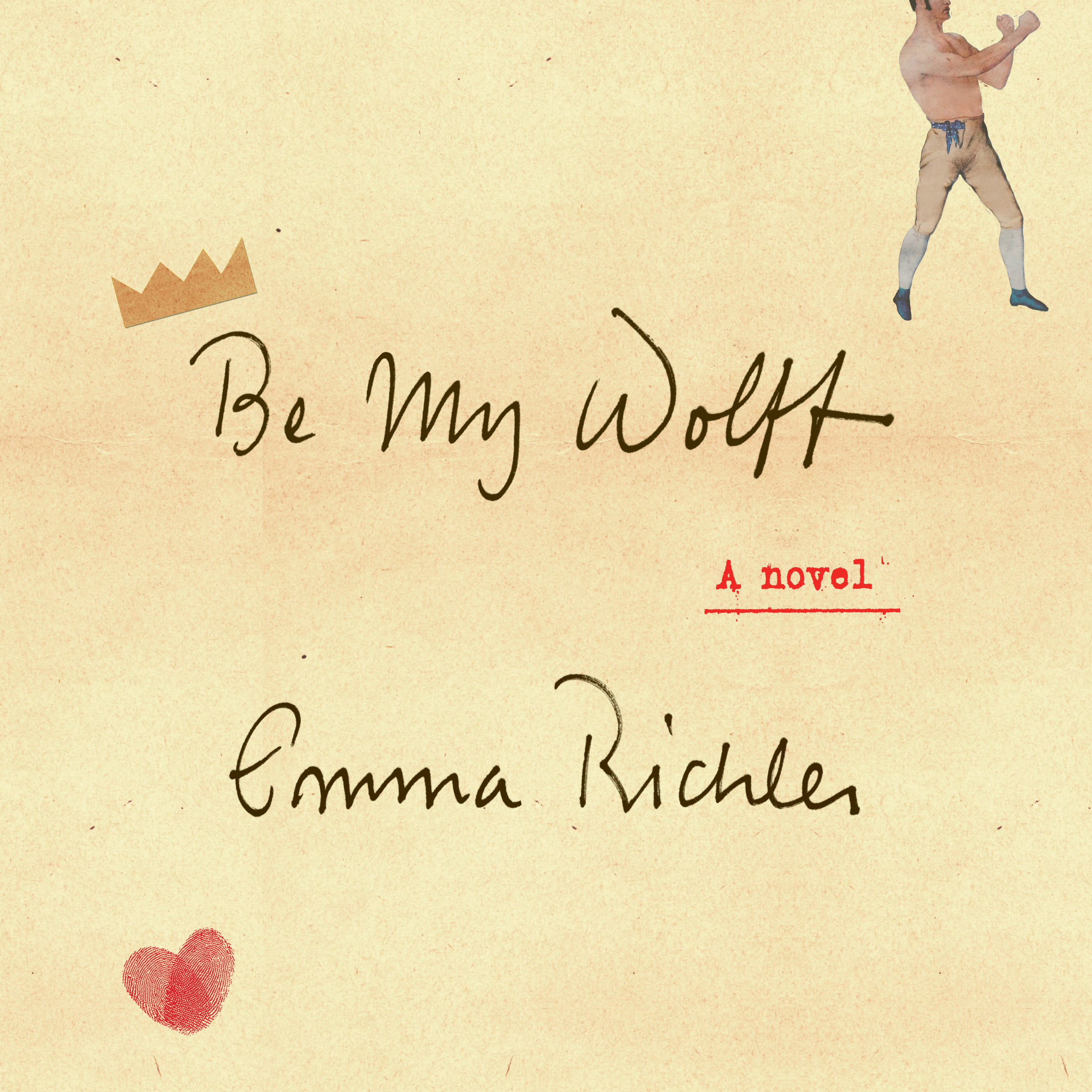 Printable Be My Wolff: A Novel Audiobook Cover Art
