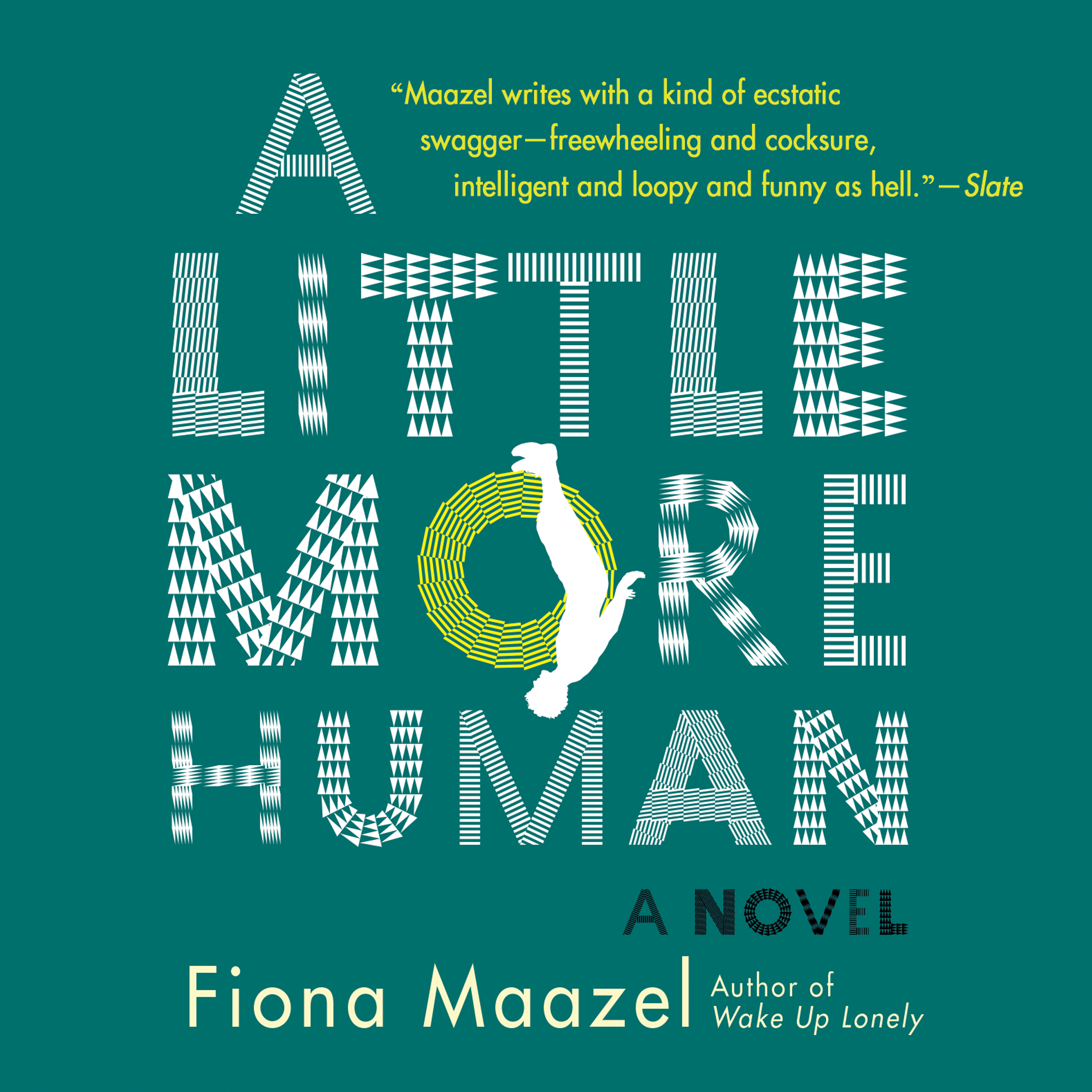 Printable A Little More Human Audiobook Cover Art