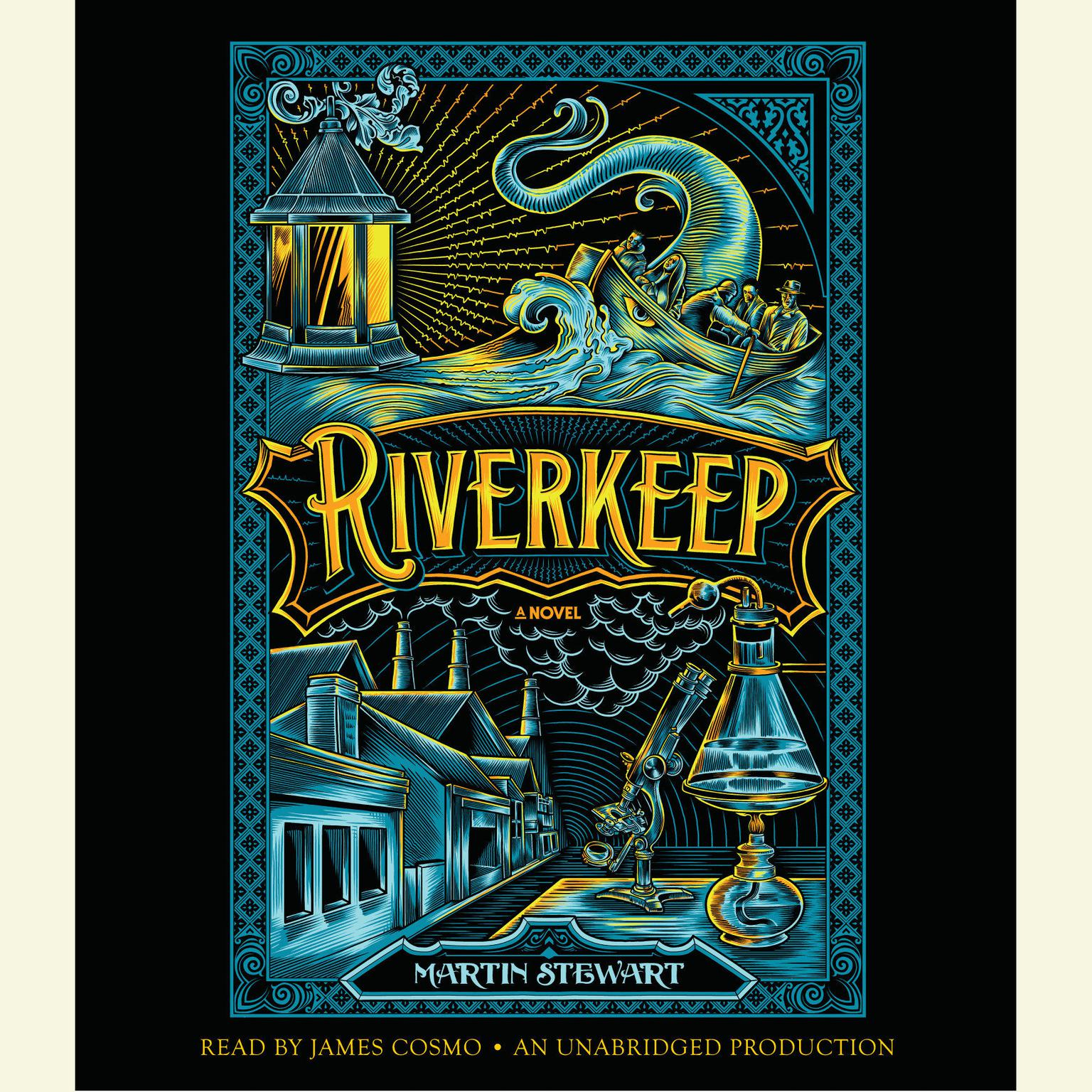 Printable Riverkeep Audiobook Cover Art