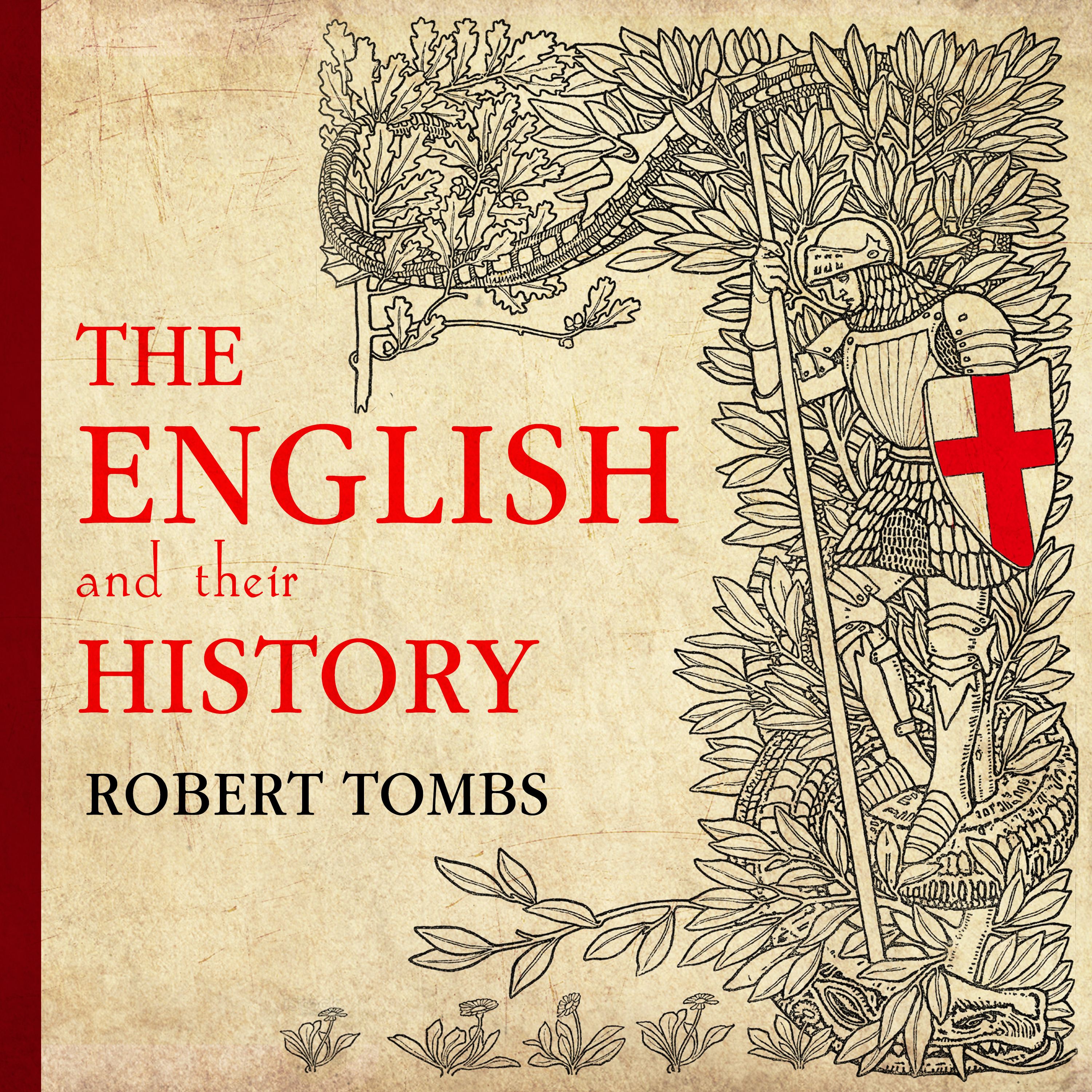 Printable The English and Their History Audiobook Cover Art