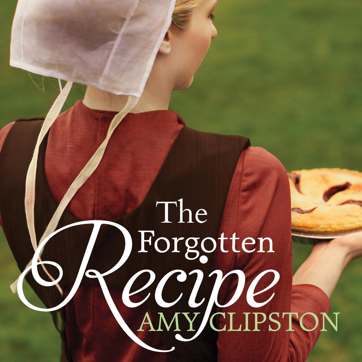 Printable The Forgotten Recipe Audiobook Cover Art