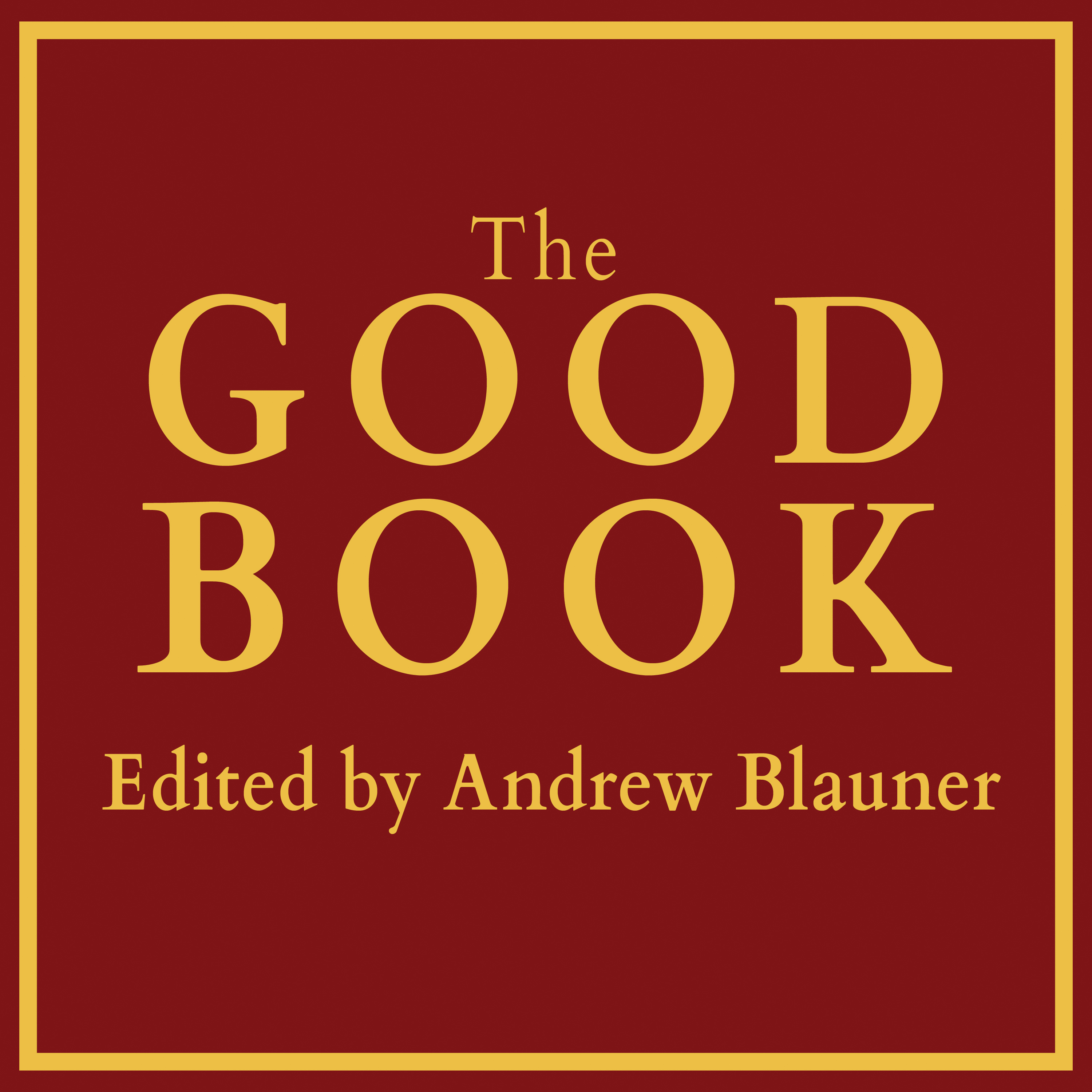 Printable The Good Book Audiobook Cover Art