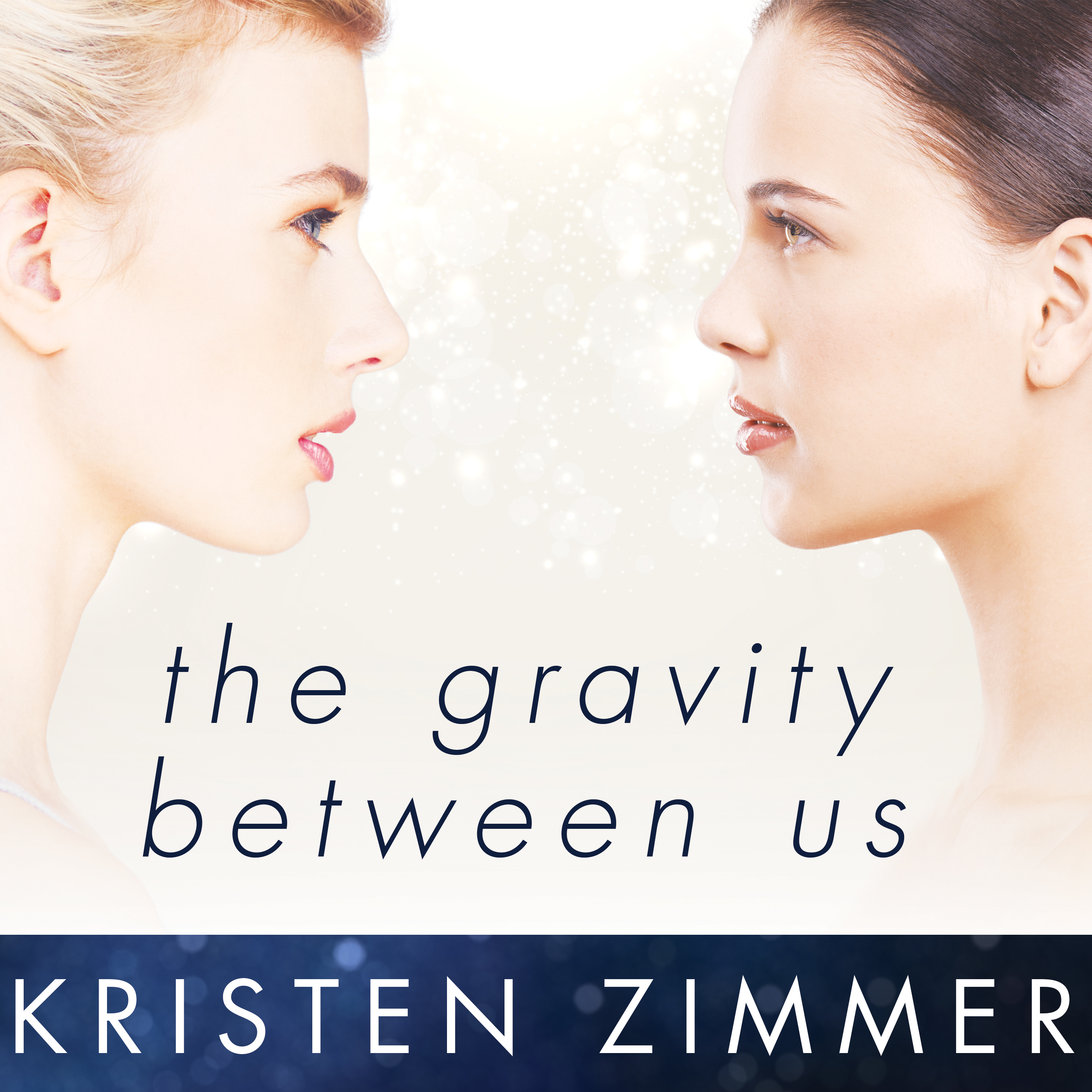 Printable The Gravity Between Us Audiobook Cover Art