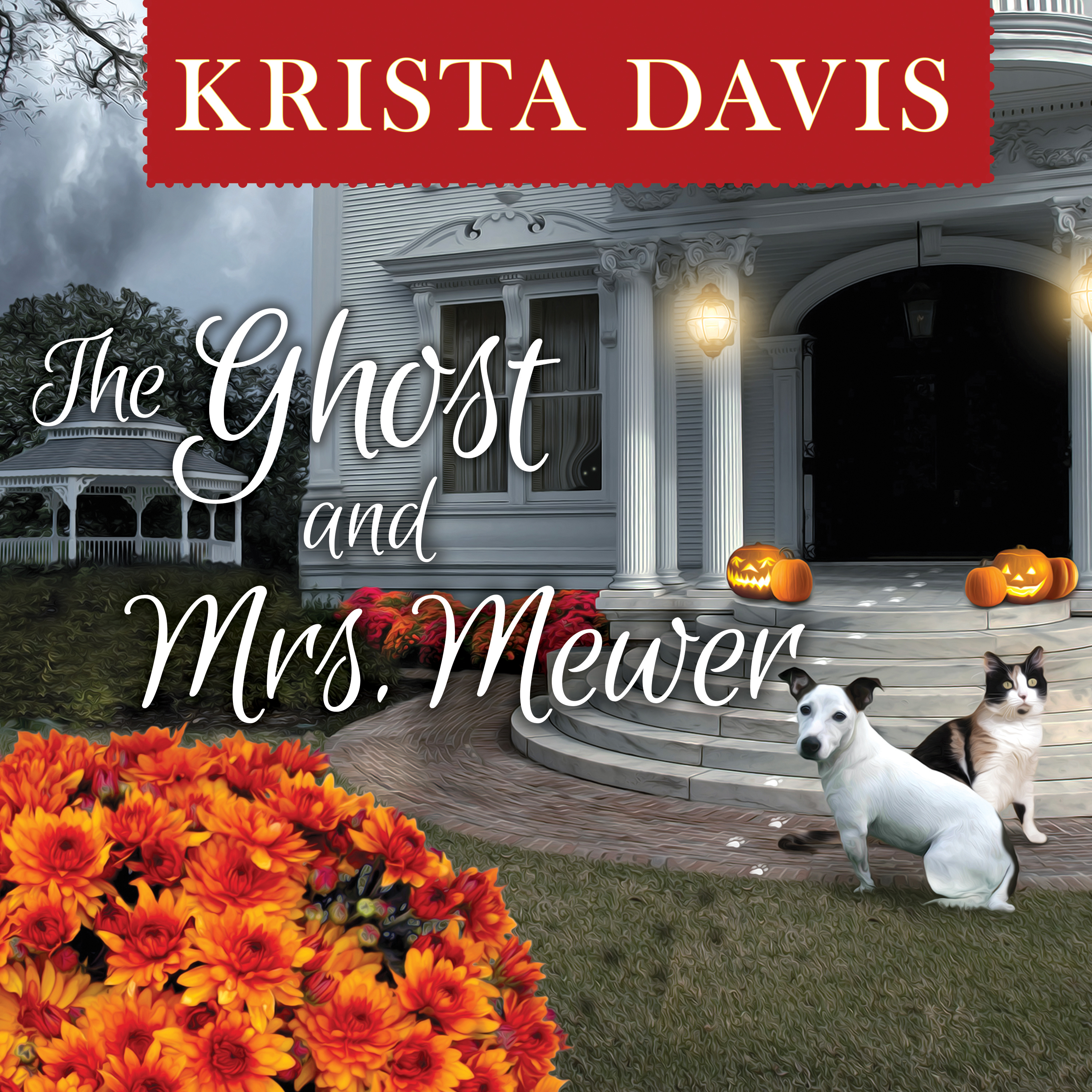 Printable The Ghost and Mrs. Mewer Audiobook Cover Art