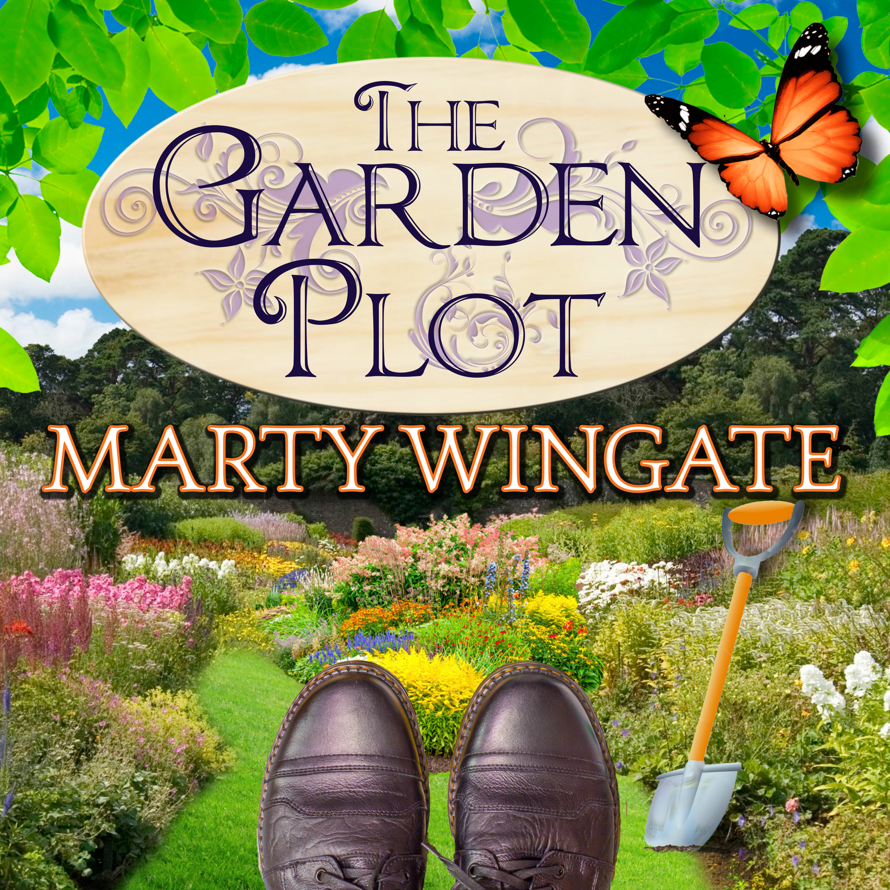 Printable The Garden Plot Audiobook Cover Art