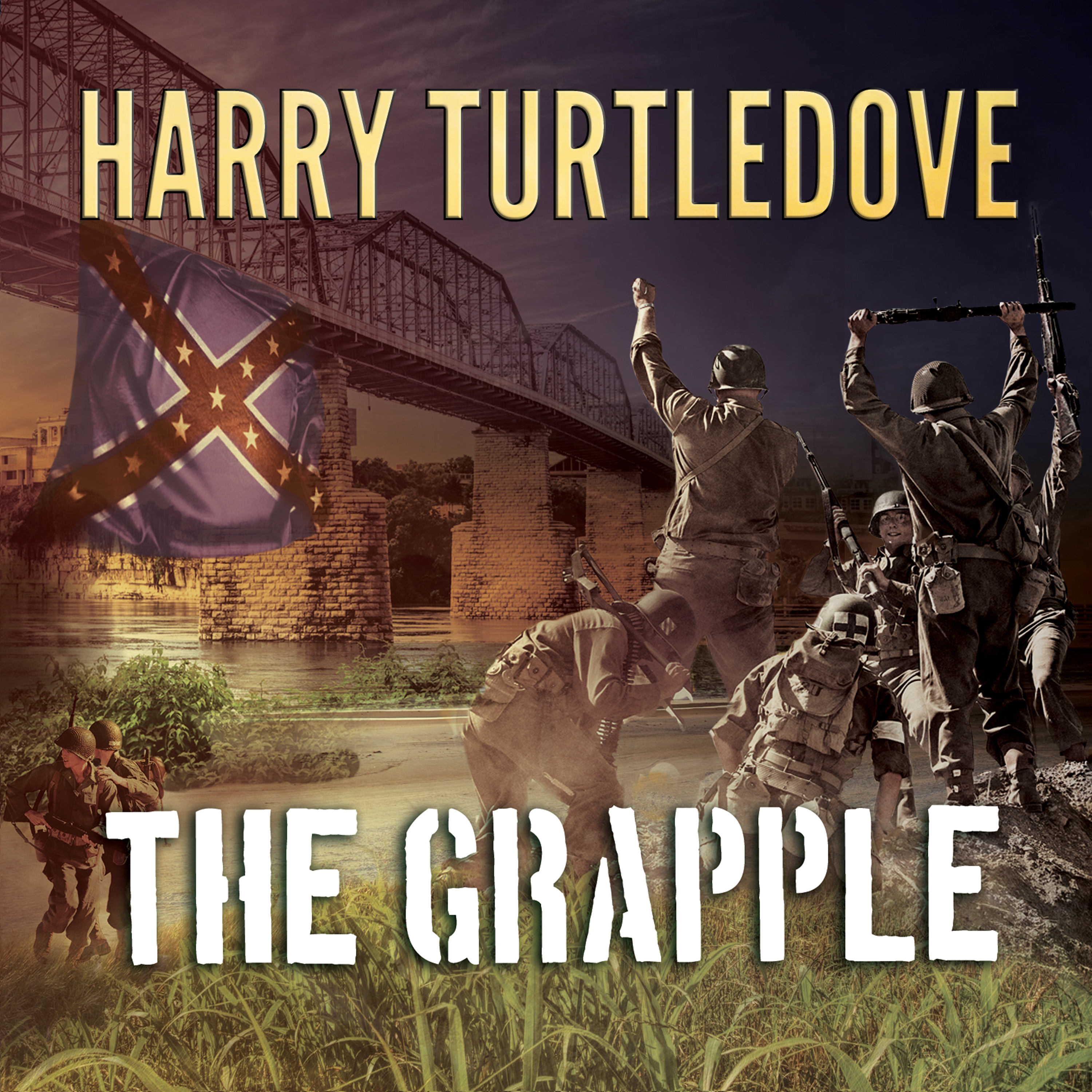 Printable The Grapple Audiobook Cover Art