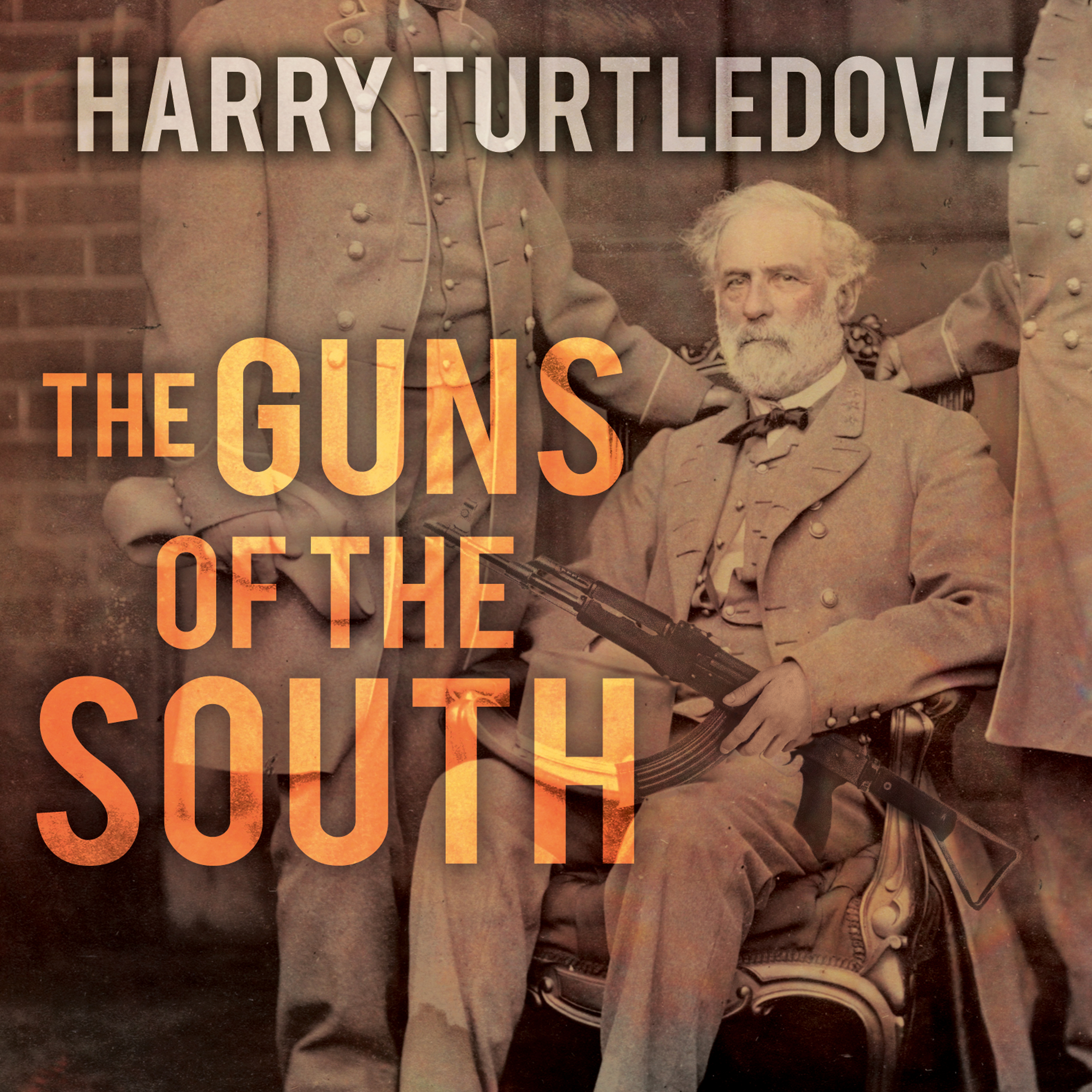 Printable The Guns of the South Audiobook Cover Art