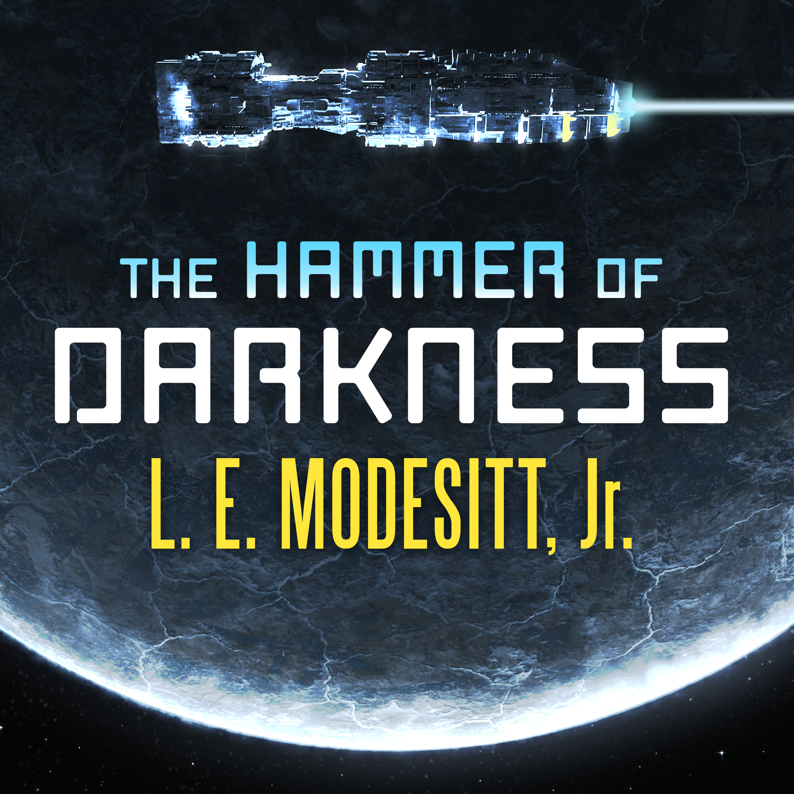 Printable The Hammer of Darkness Audiobook Cover Art