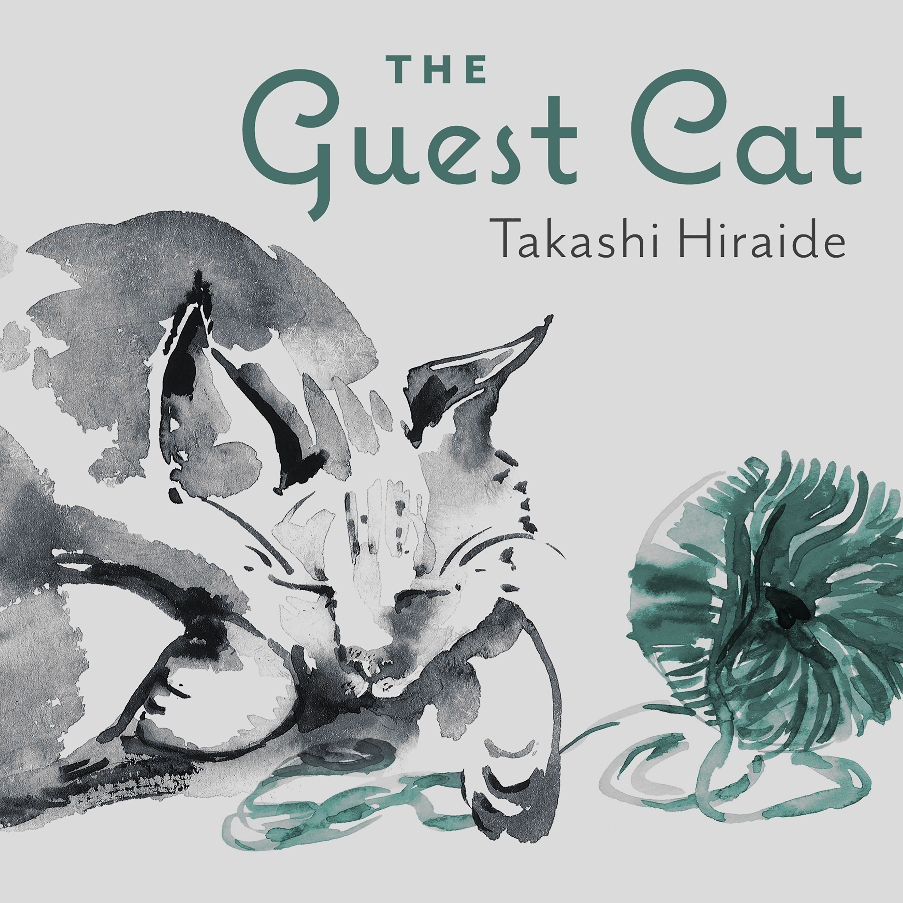 Printable The Guest Cat Audiobook Cover Art