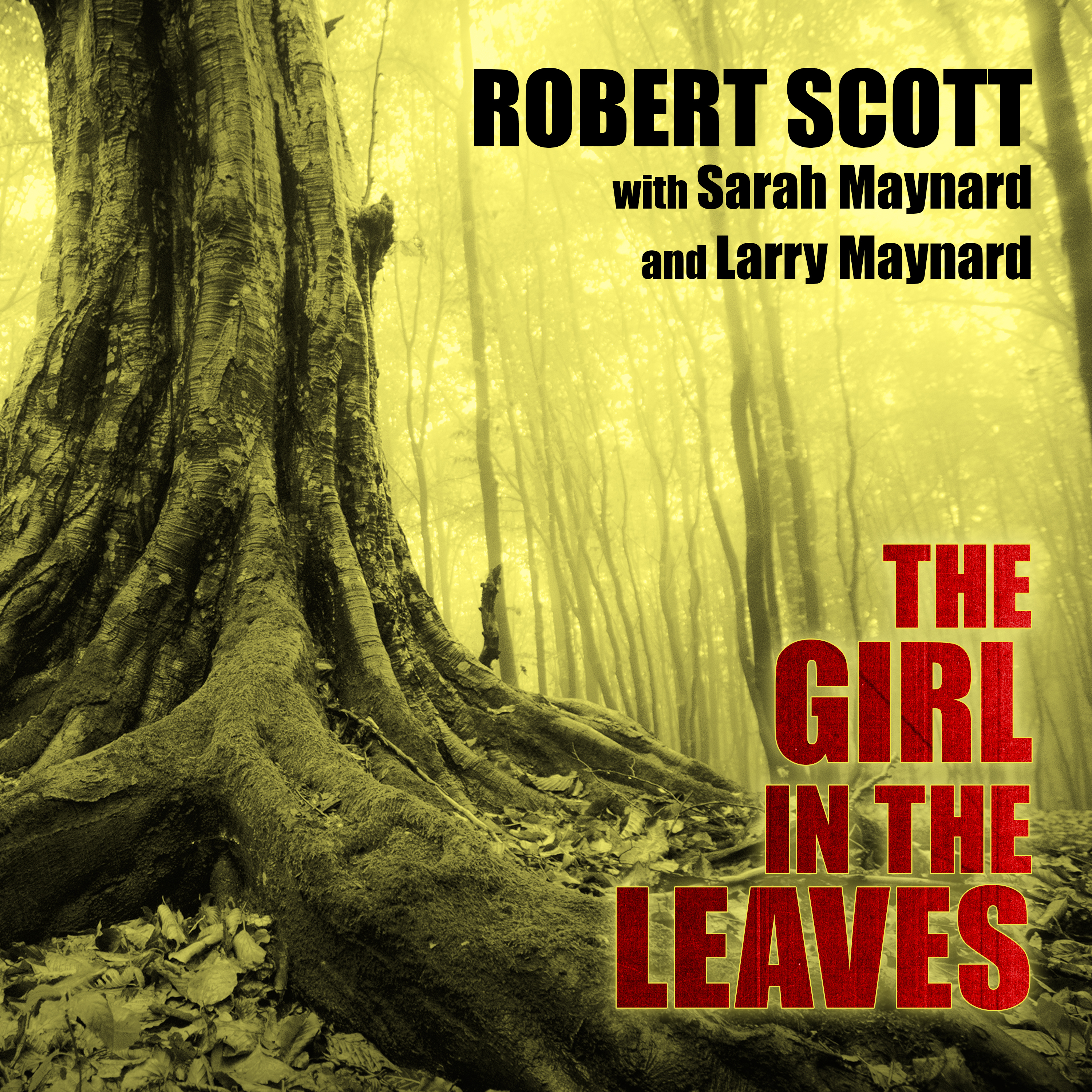 Printable The Girl in the Leaves Audiobook Cover Art