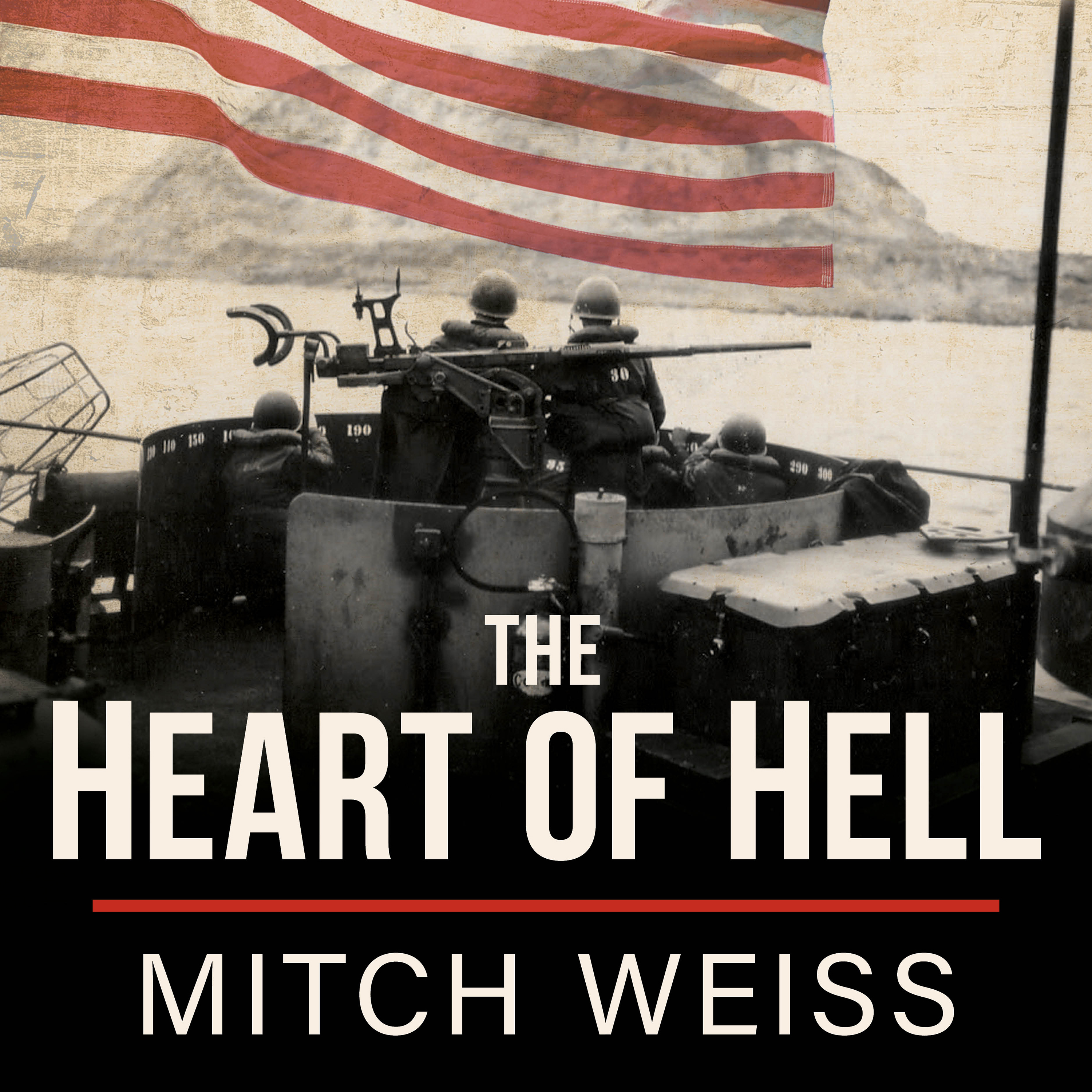Printable The Heart of Hell: The Untold Story of Courage and Sacrifice in the Shadow of Iwo Jima Audiobook Cover Art