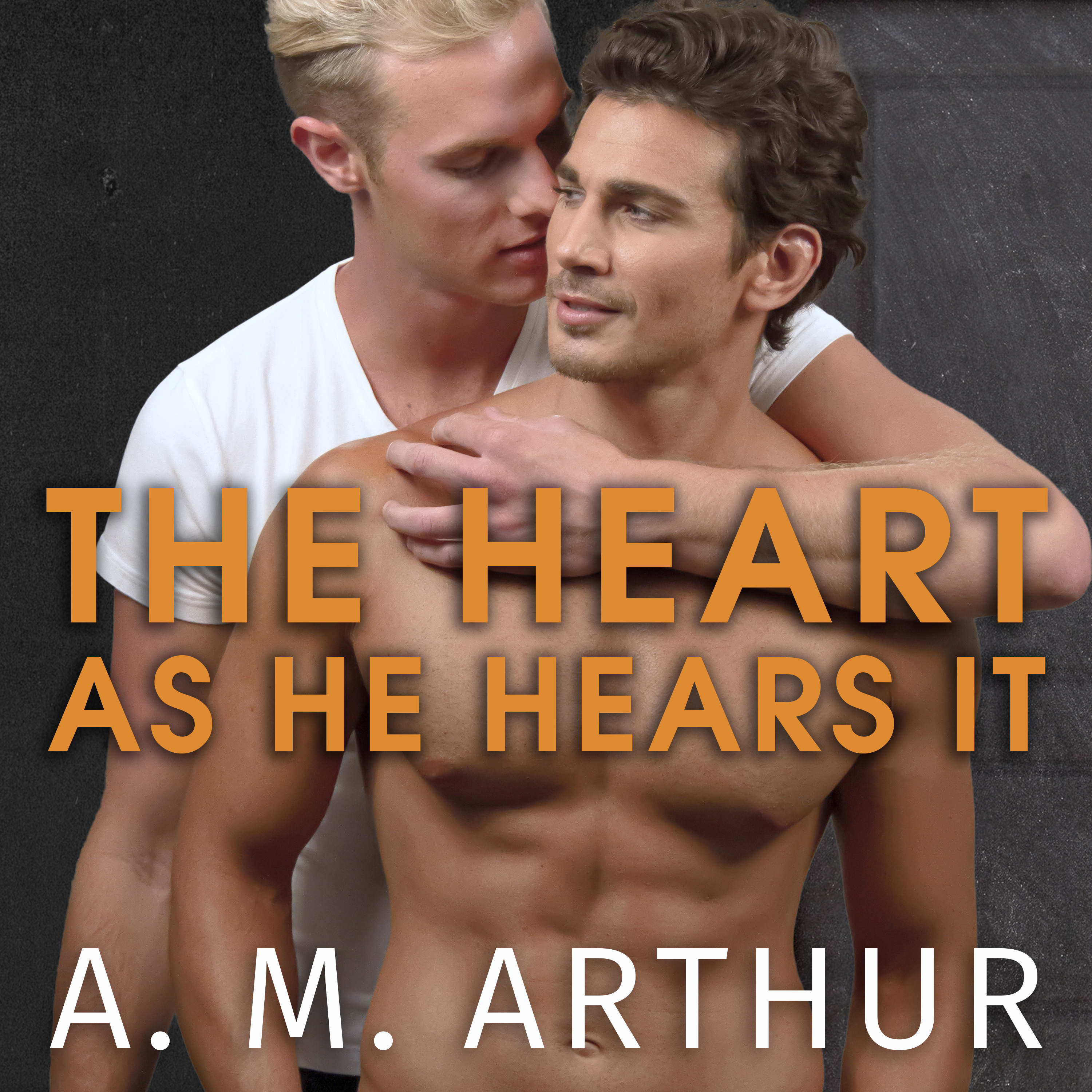 Printable The Heart As He Hears It Audiobook Cover Art