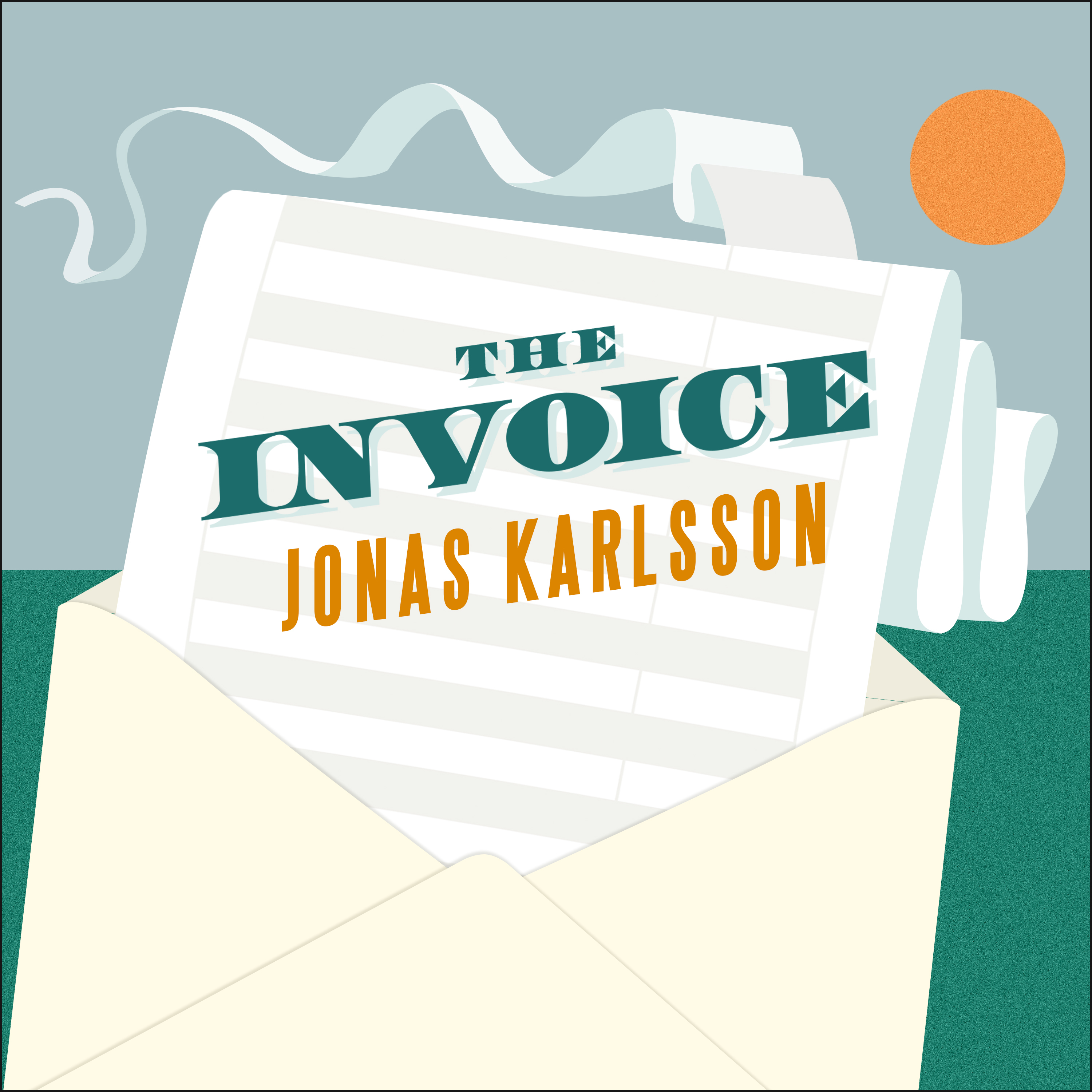 Printable The Invoice: A Novel Audiobook Cover Art