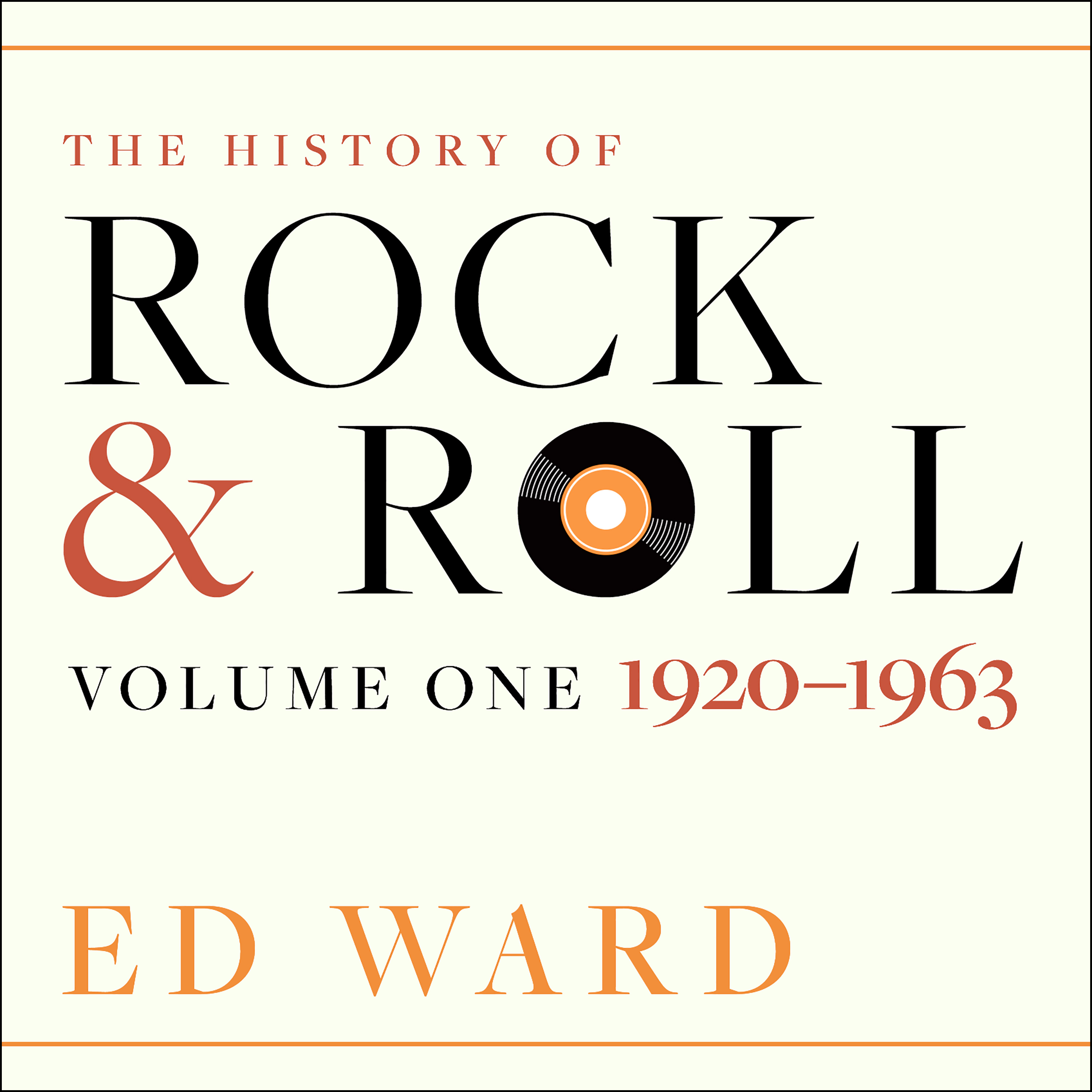 Printable The History of Rock & Roll: Volume 1: 1920-1963 Audiobook Cover Art