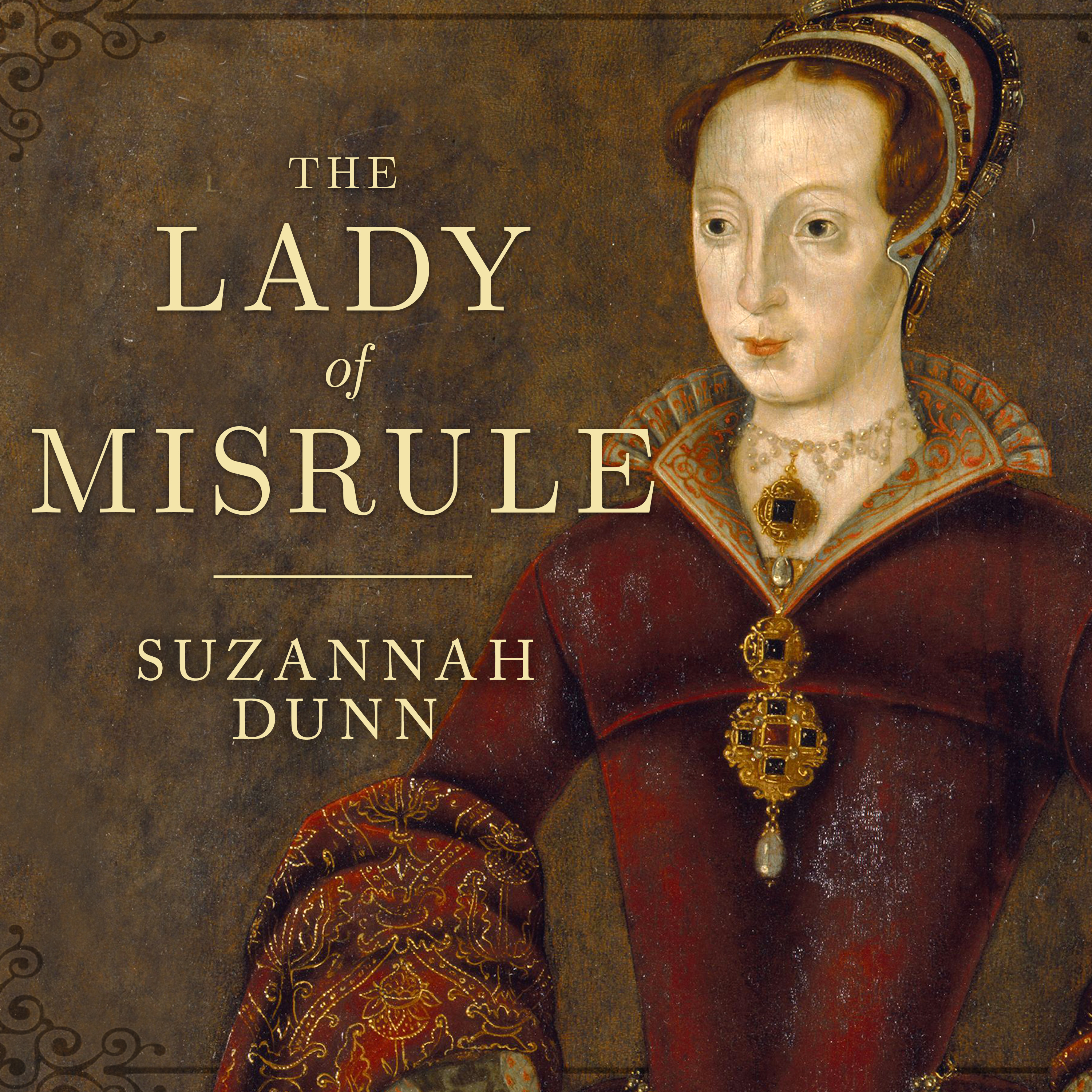 Printable The Lady of Misrule Audiobook Cover Art