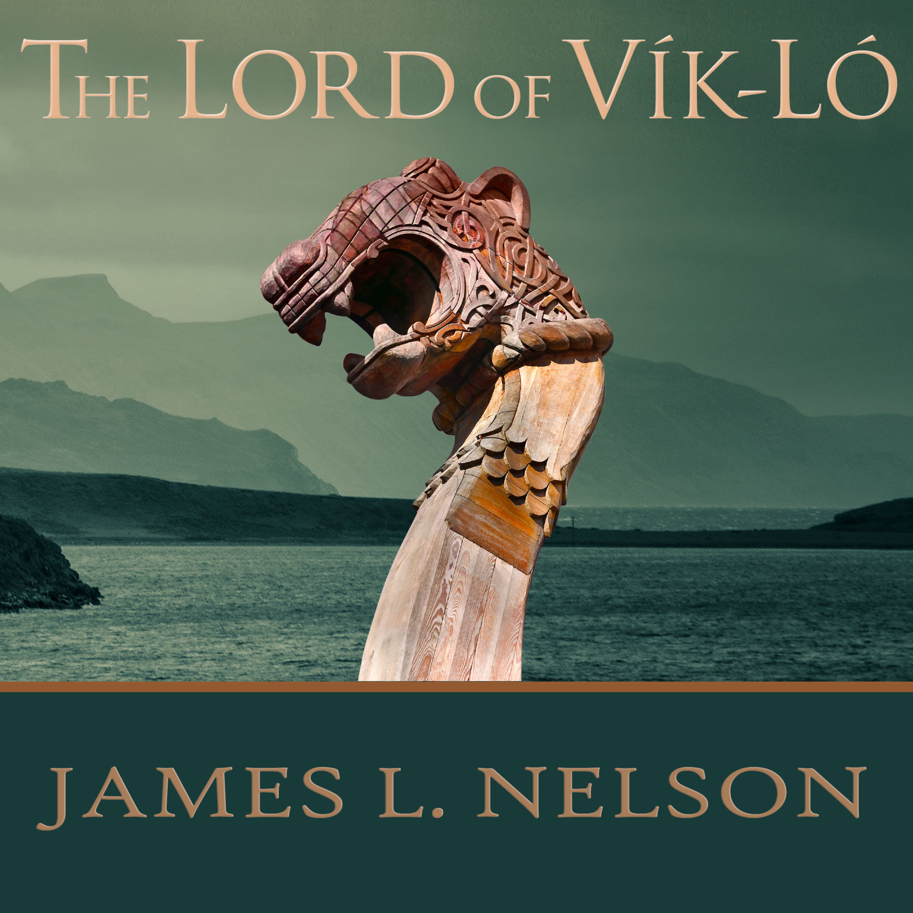 Printable The Lord of Vik-Lo: A Novel of Viking Age Ireland Audiobook Cover Art