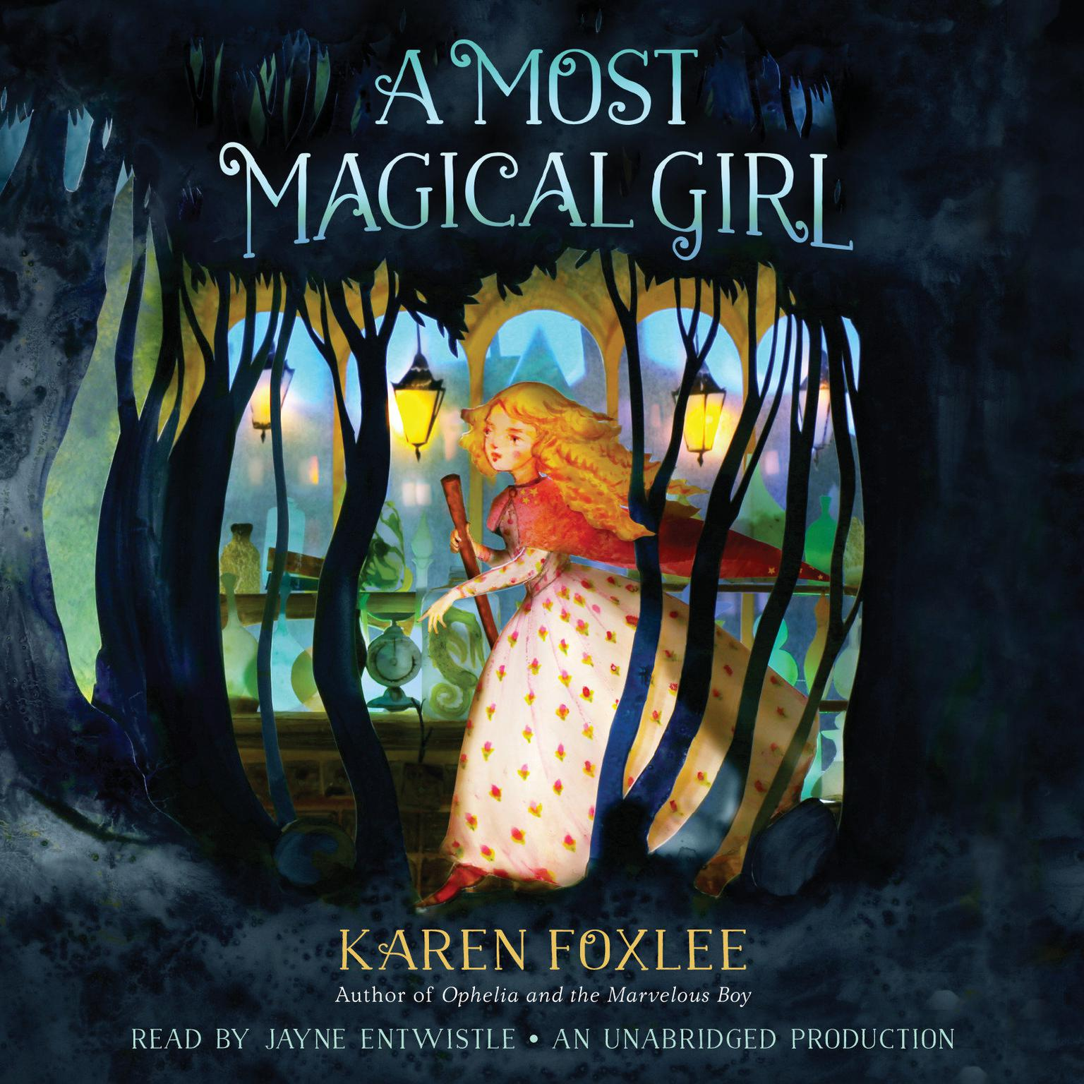 Printable A Most Magical Girl Audiobook Cover Art