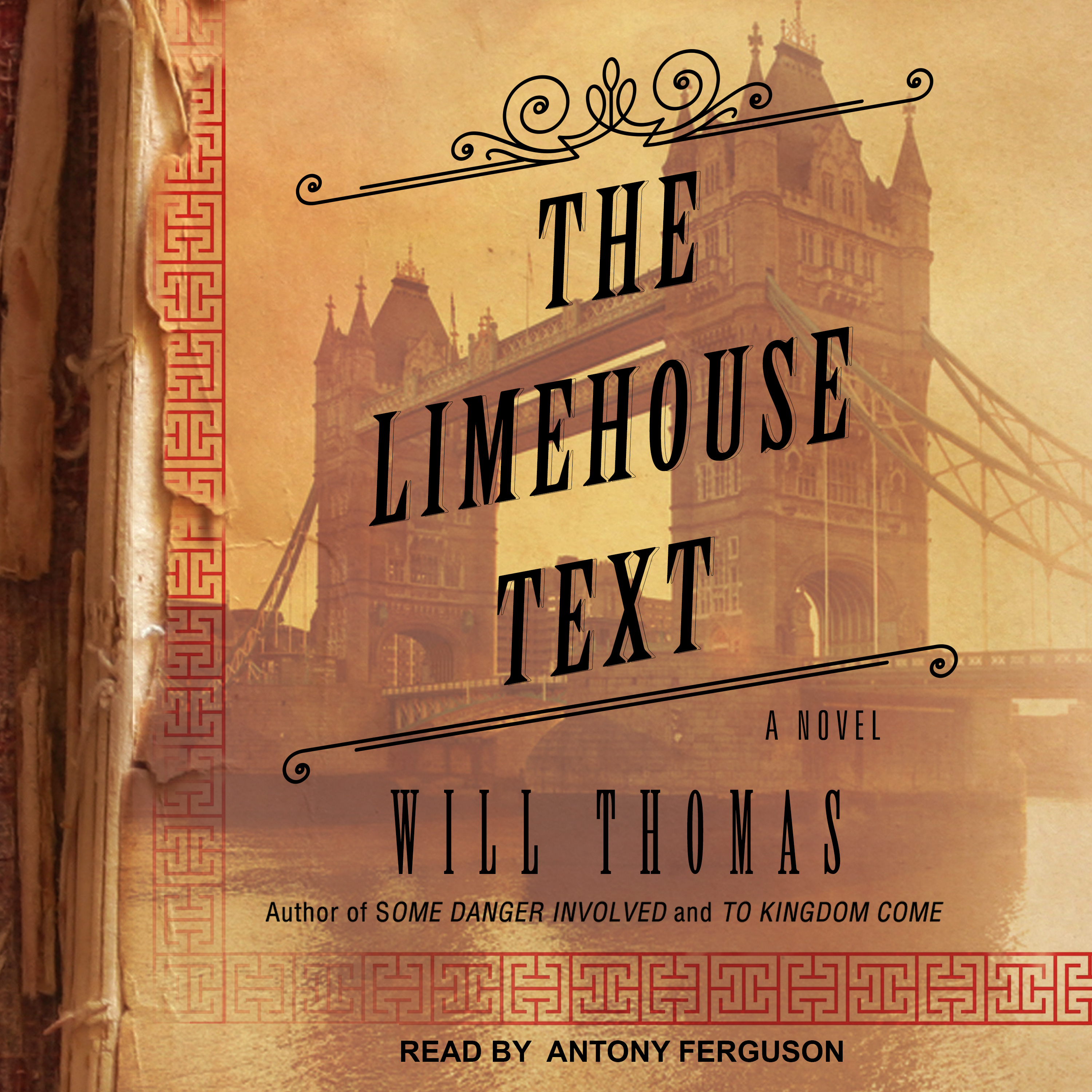 Printable The Limehouse Text Audiobook Cover Art