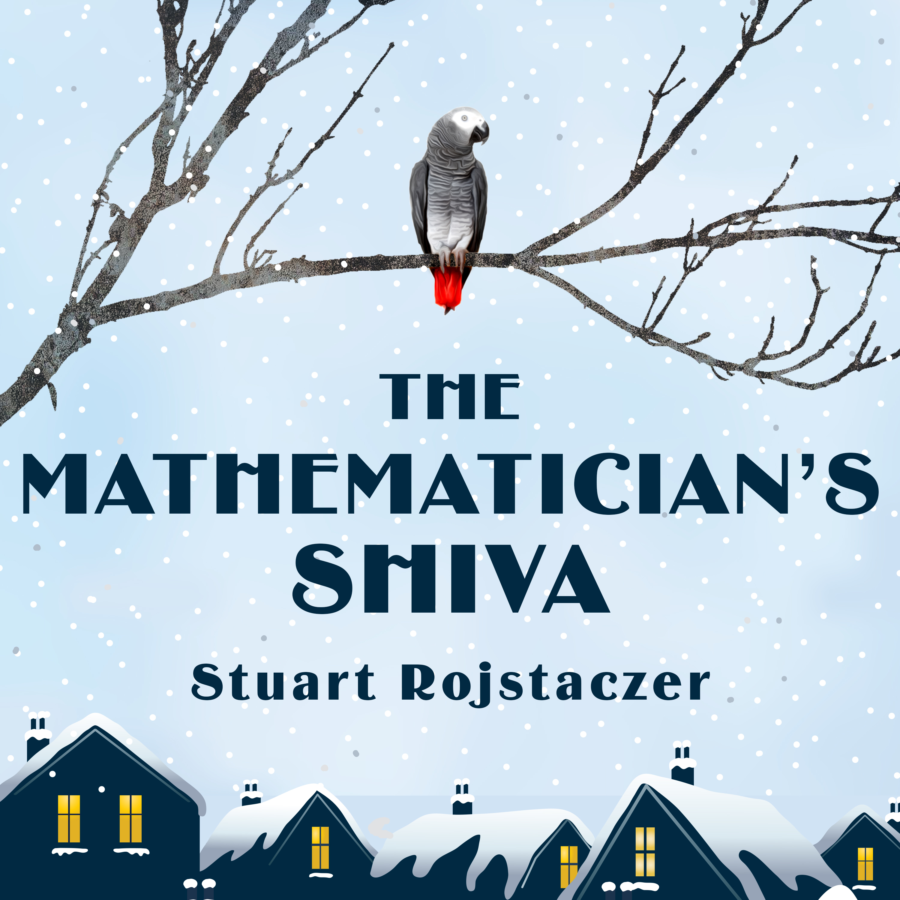 Printable The Mathematician's Shiva Audiobook Cover Art