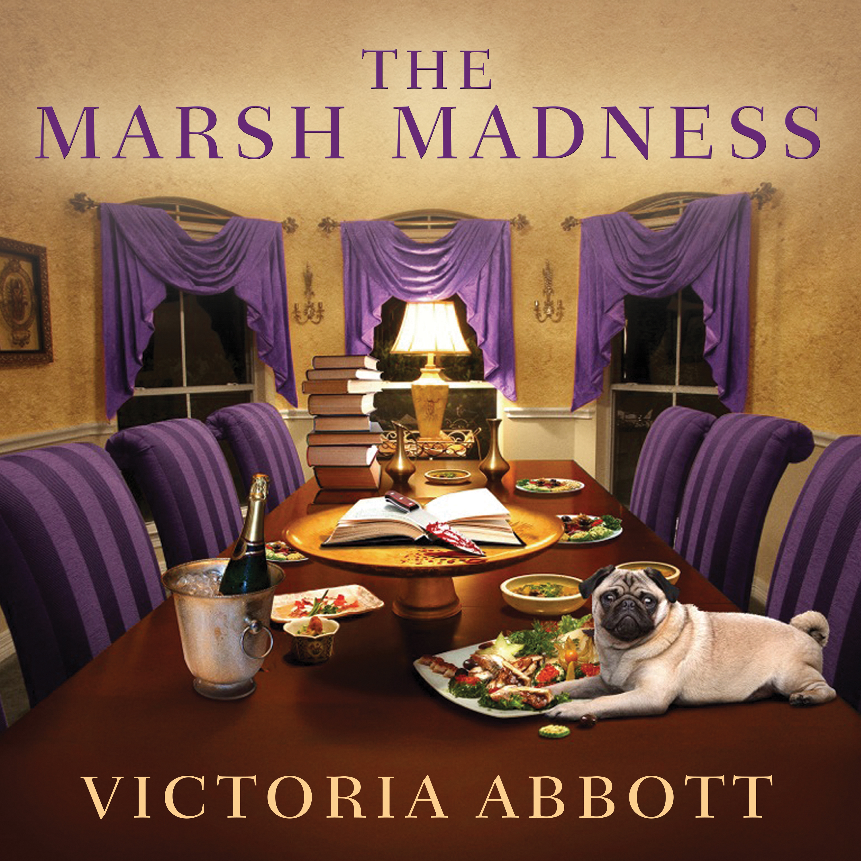 Printable The Marsh Madness Audiobook Cover Art