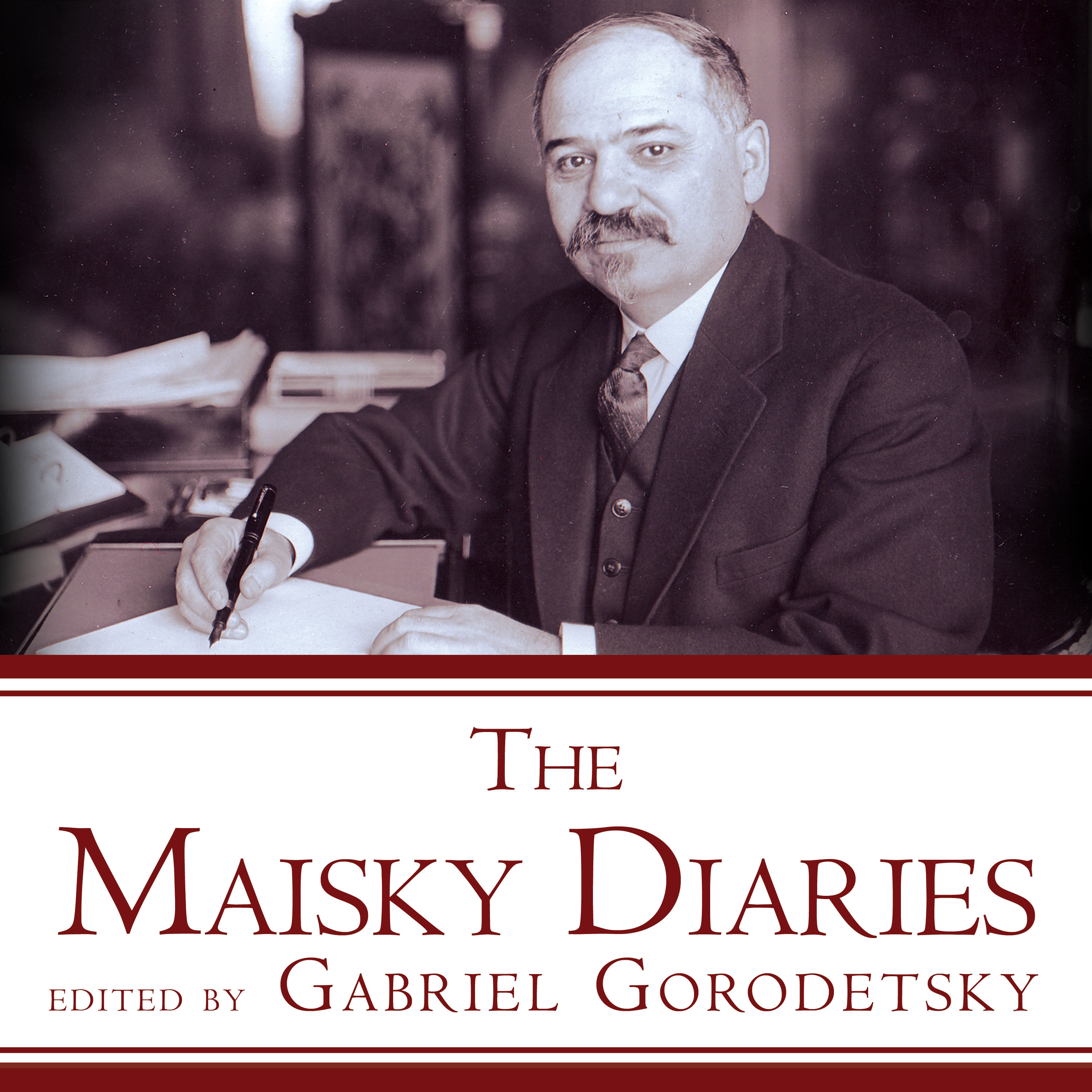Printable The Maisky Diaries: Red Ambassador to the Court of St James's, 1932-1943 Audiobook Cover Art
