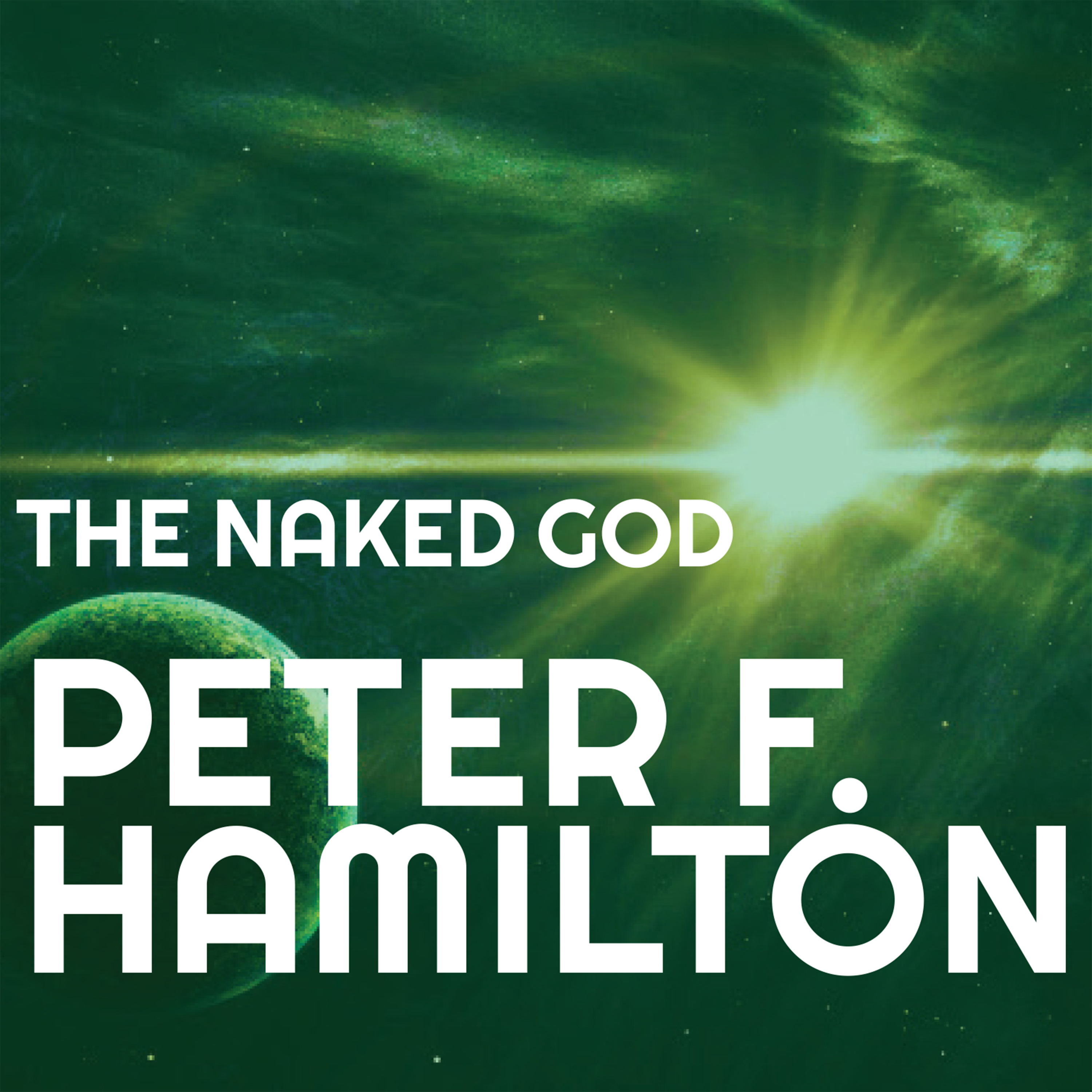 Printable The Naked God Audiobook Cover Art