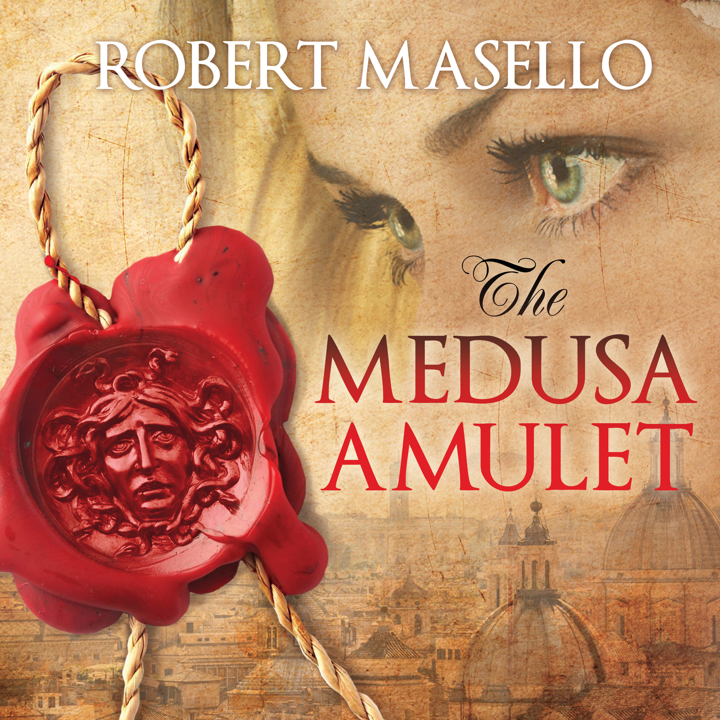 Printable The Medusa Amulet Audiobook Cover Art