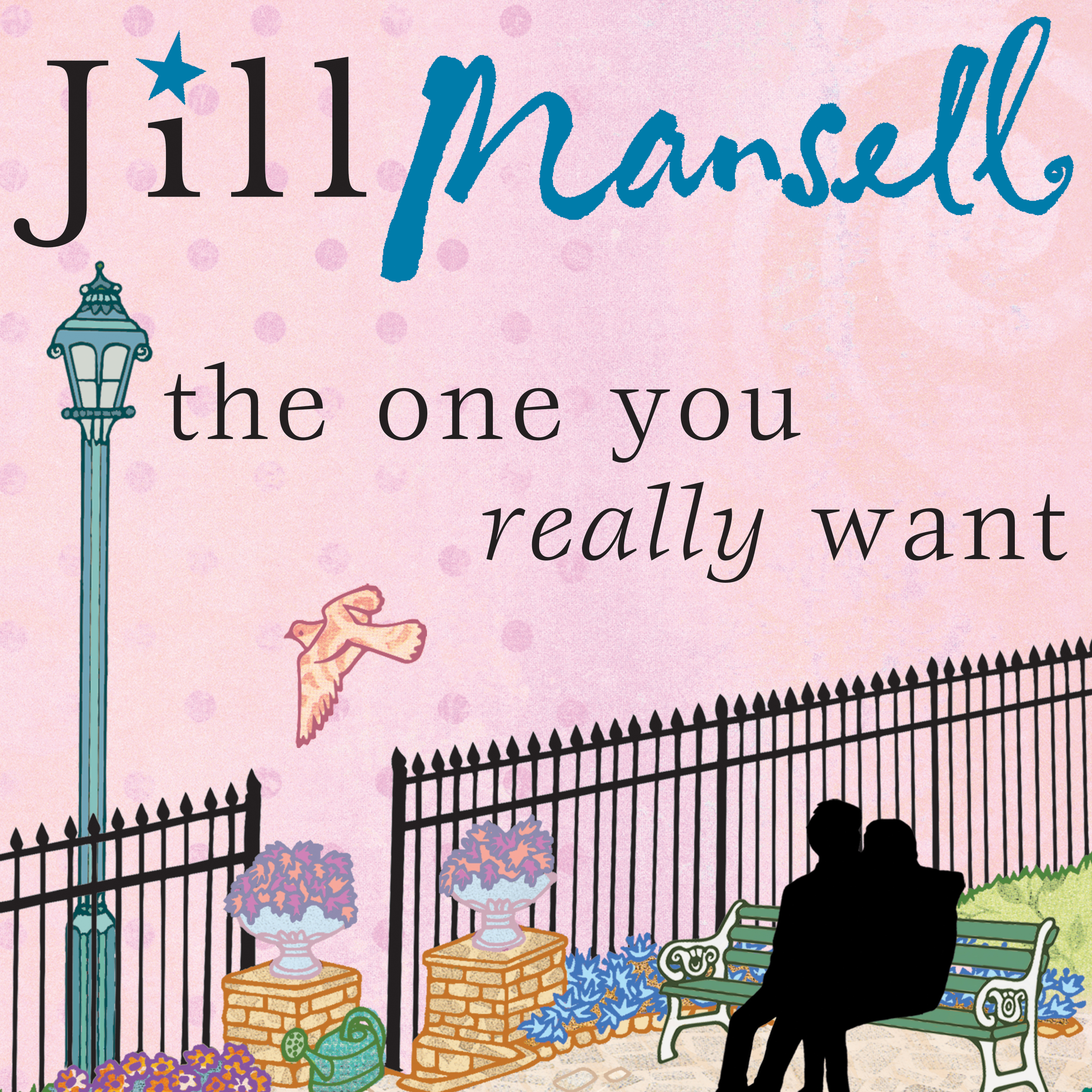 Printable The One You Really Want Audiobook Cover Art