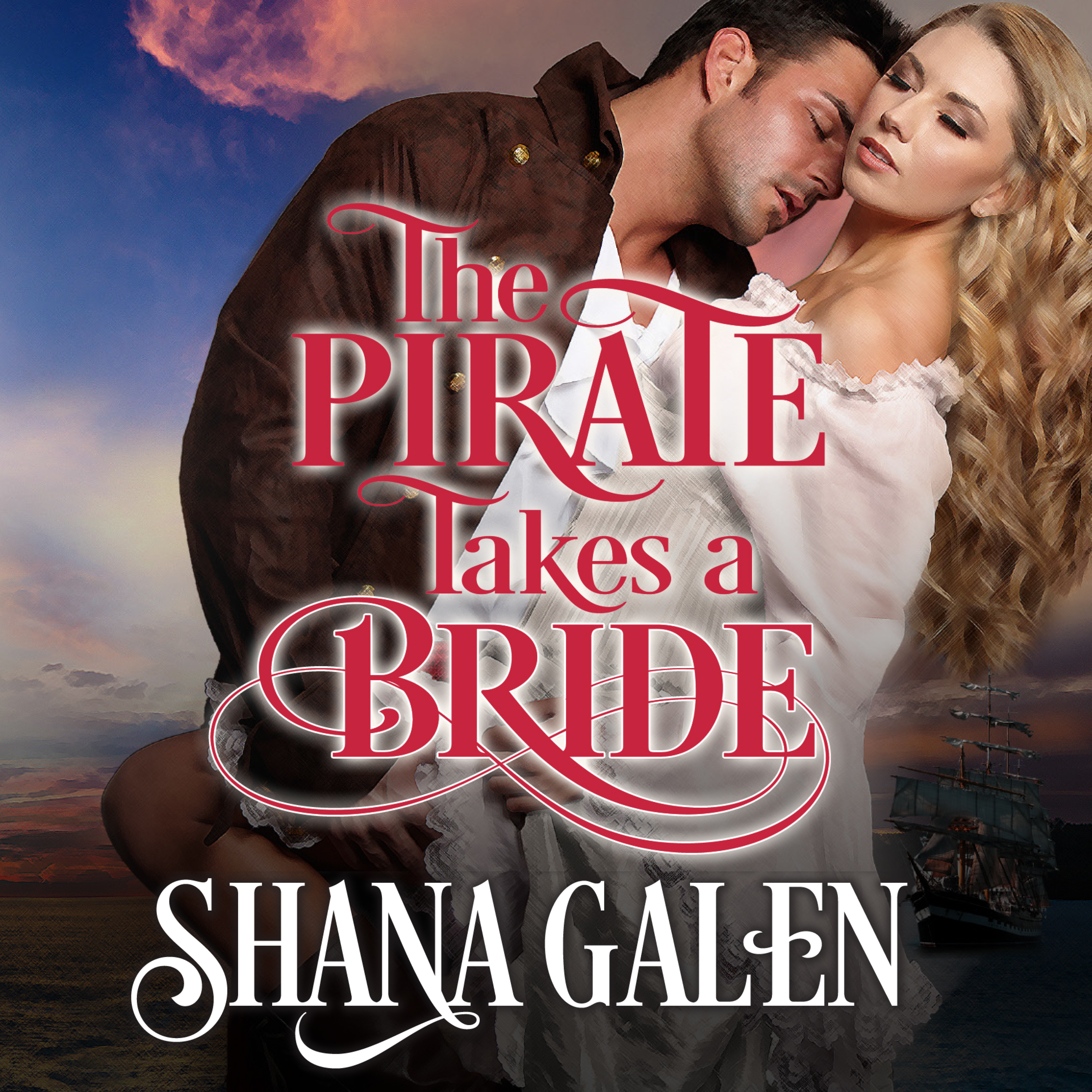 Printable The Pirate Takes A Bride Audiobook Cover Art