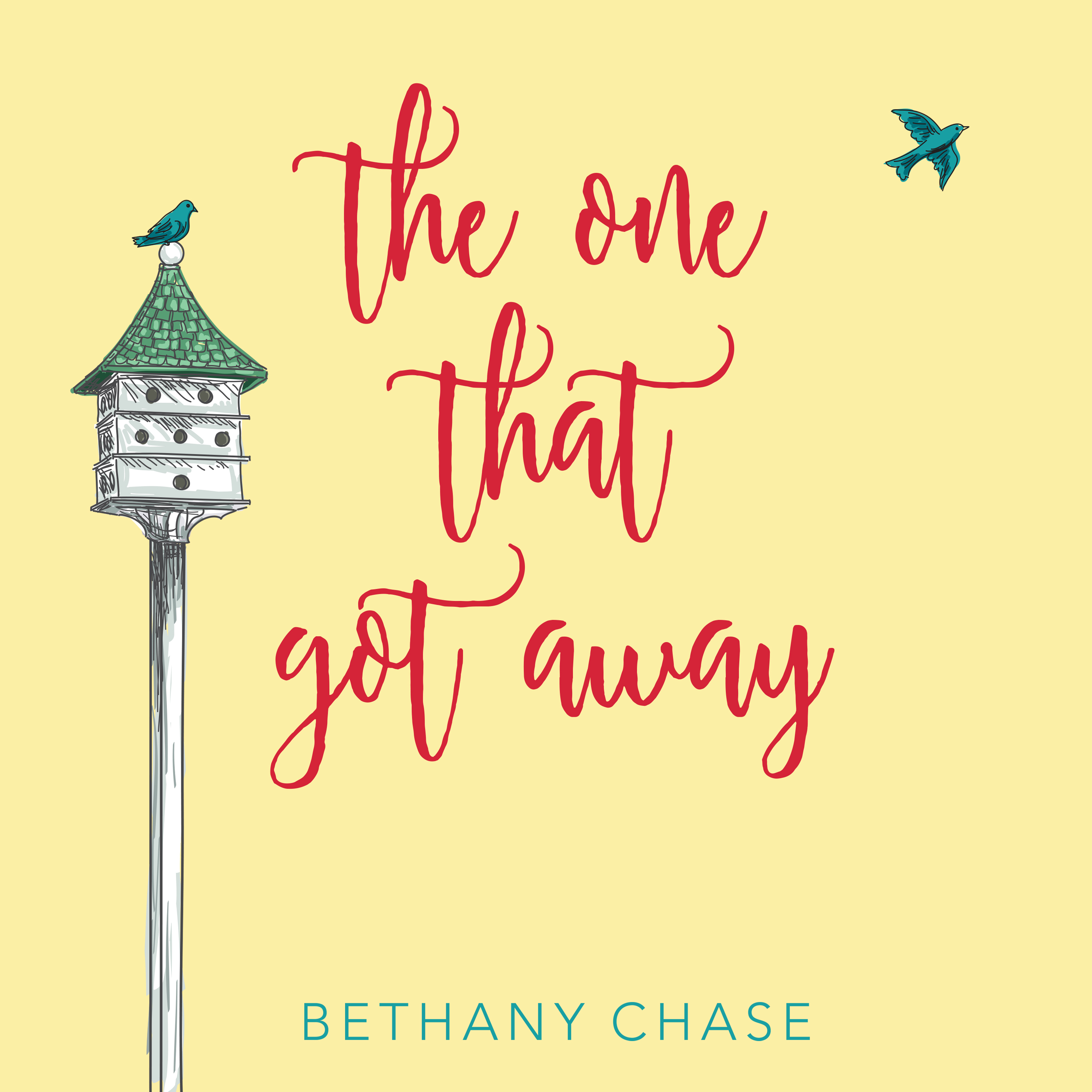 Printable The One That Got Away Audiobook Cover Art