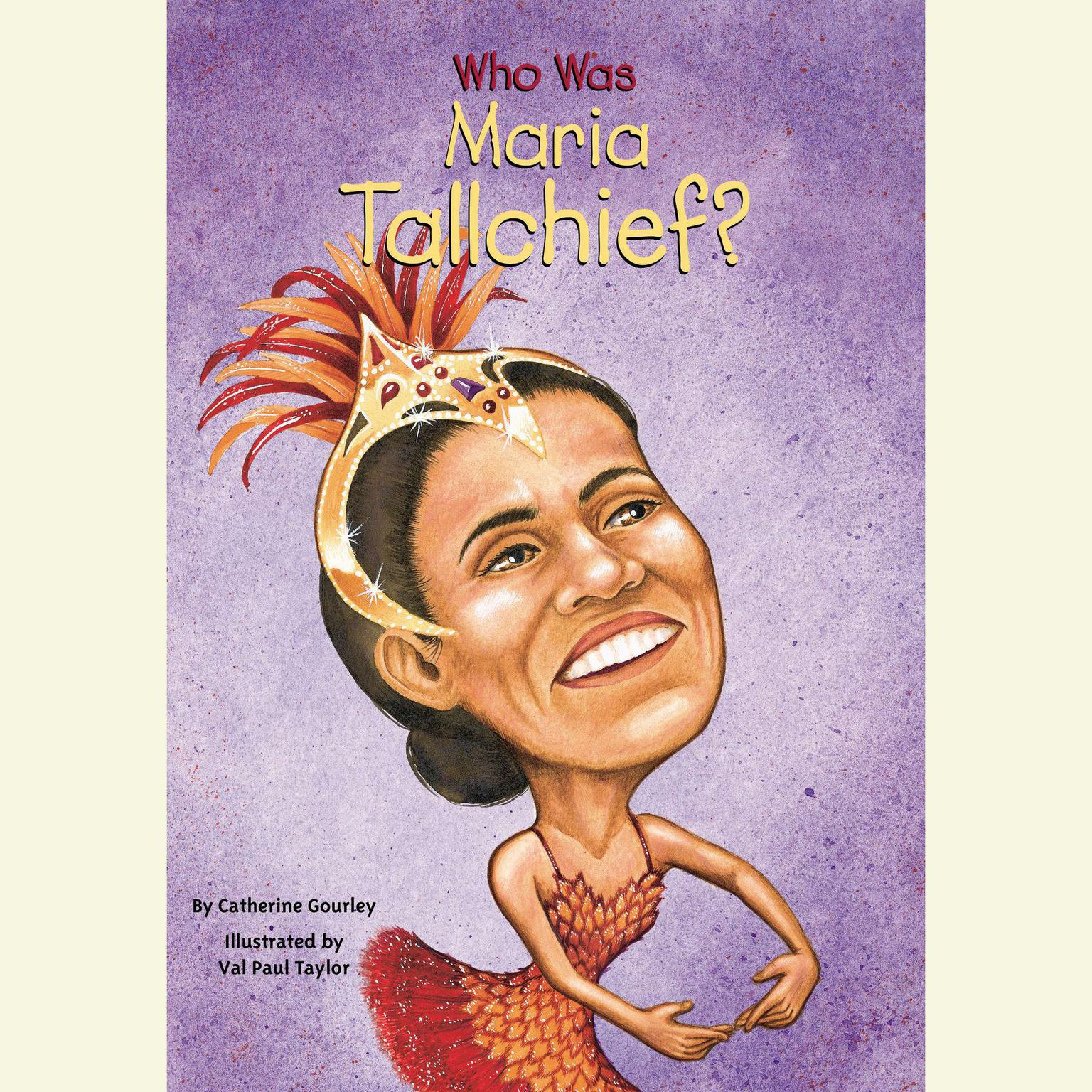 Printable Who Was Maria Tallchief? Audiobook Cover Art