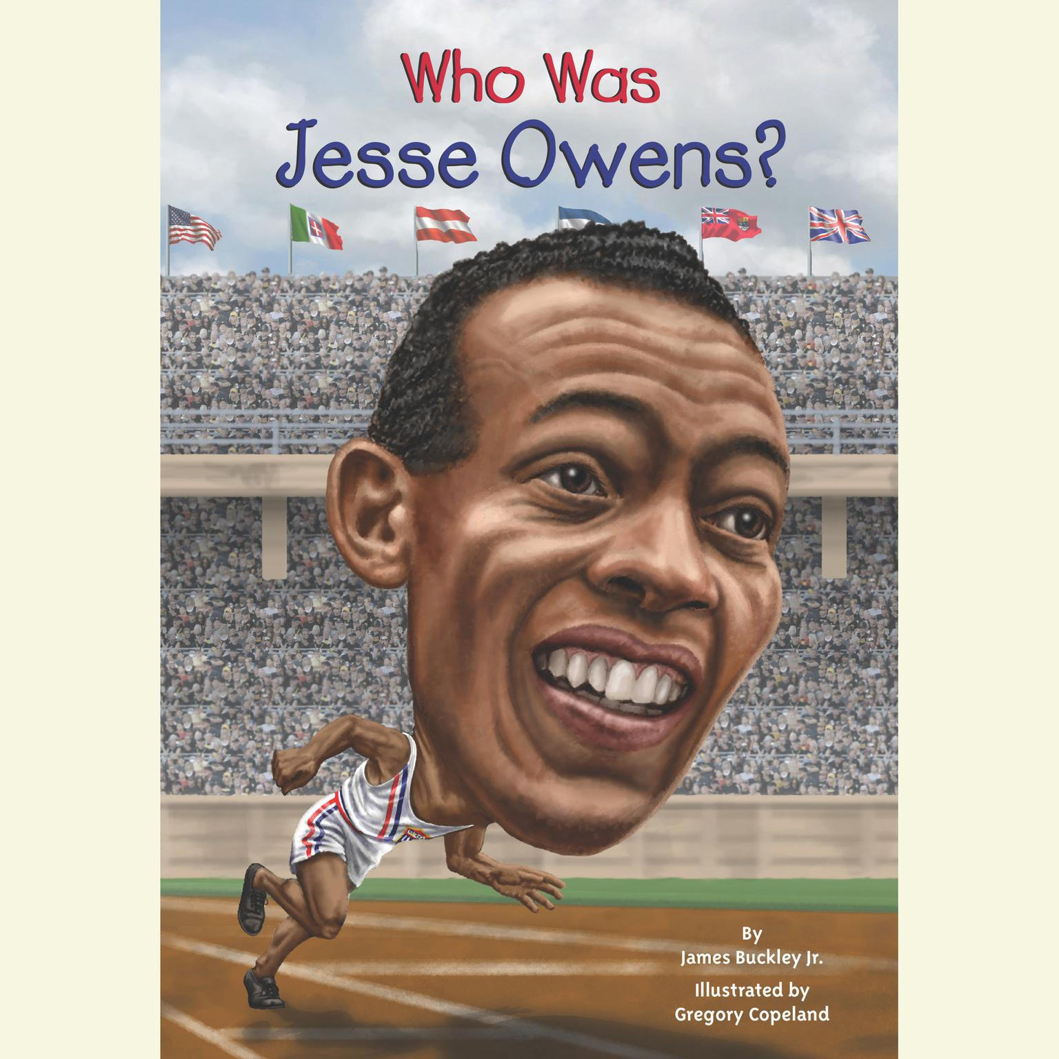 Printable Who Was Jesse Owens? Audiobook Cover Art