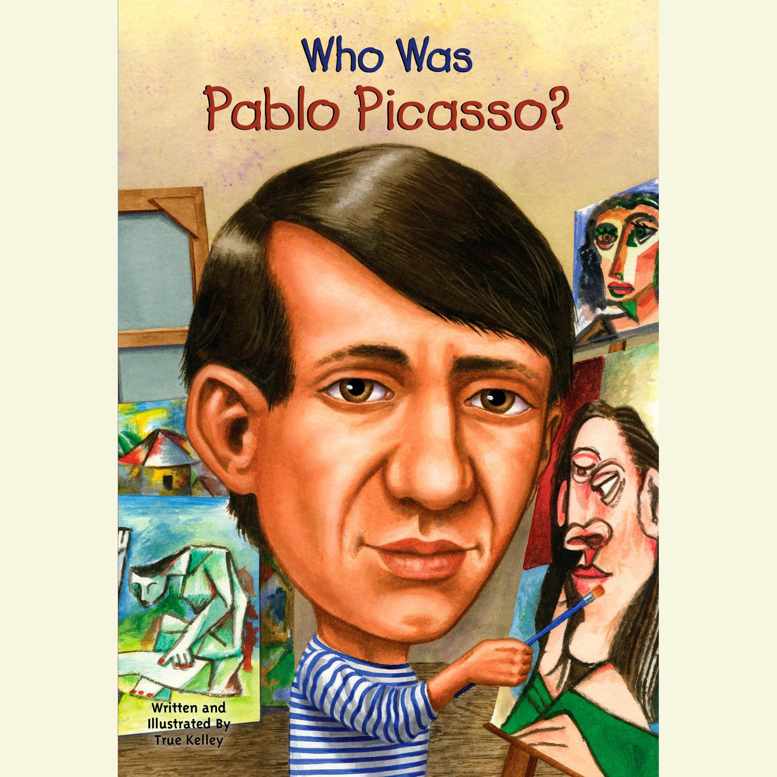 Printable Who Was Pablo Picasso? Audiobook Cover Art