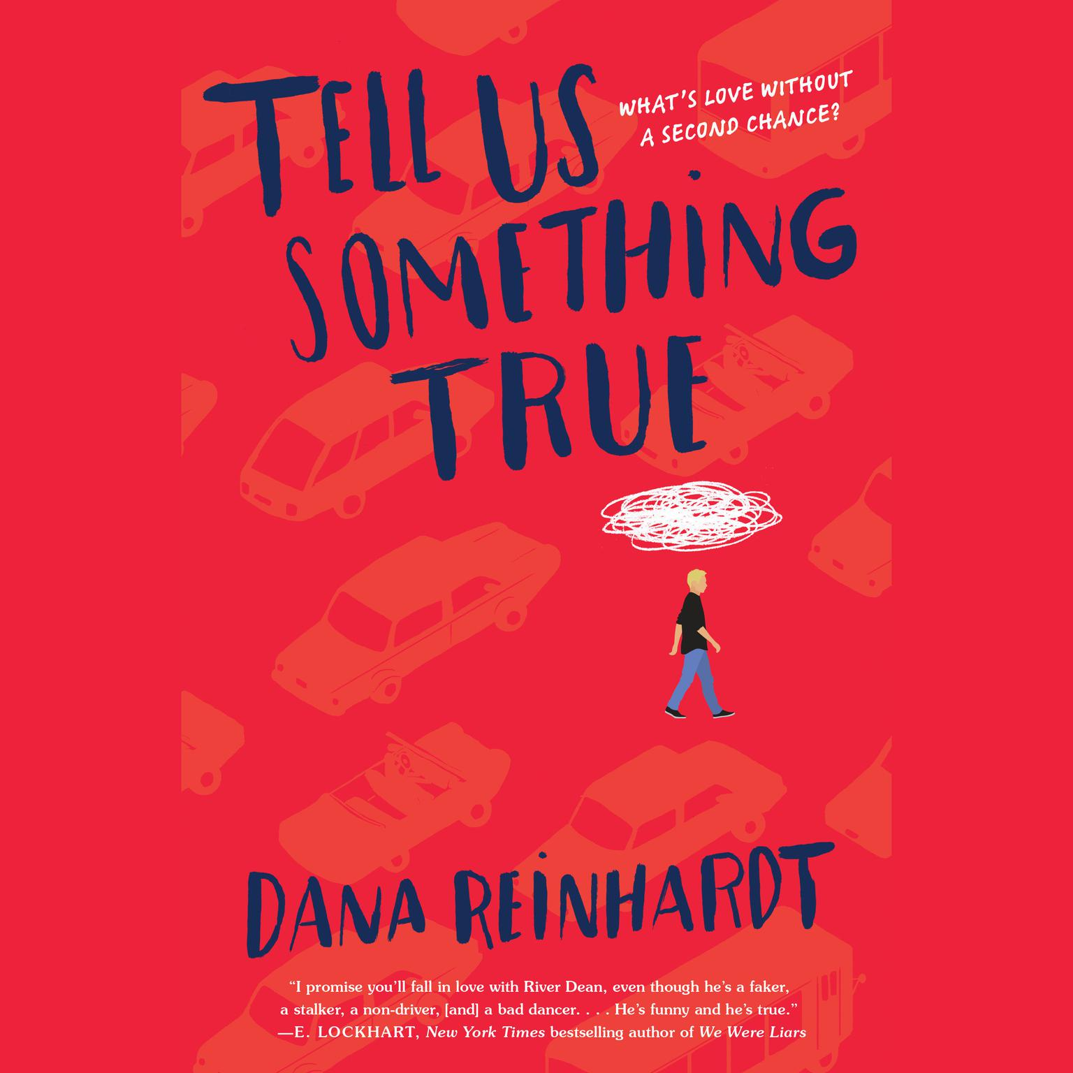 Printable Tell Us Something True Audiobook Cover Art