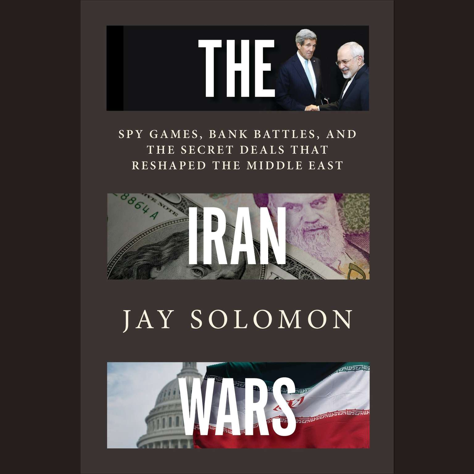 Printable The Iran Wars: Spy Games, Bank Battles, and the Secret Deals That Reshaped the Middle East Audiobook Cover Art