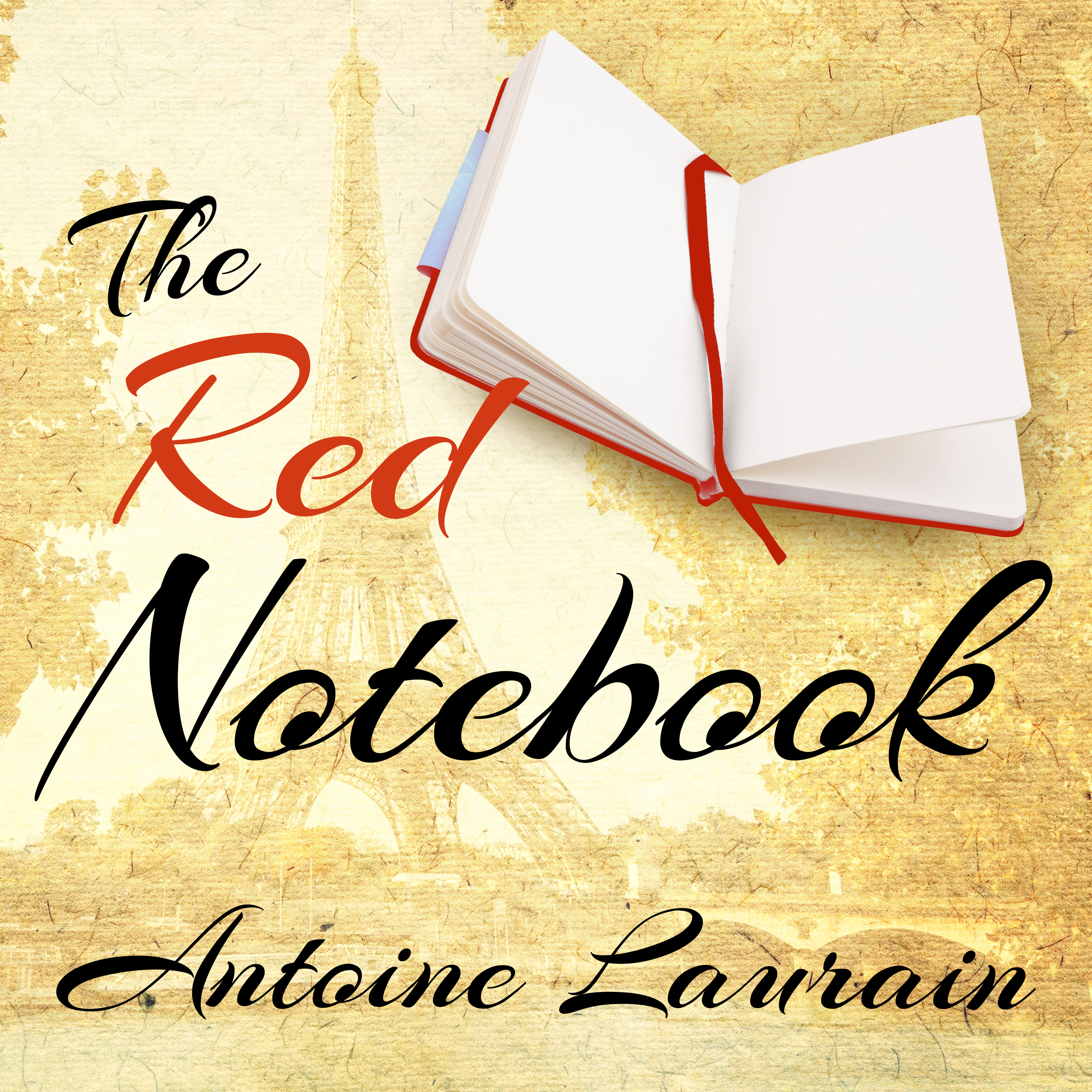 Printable The Red Notebook Audiobook Cover Art