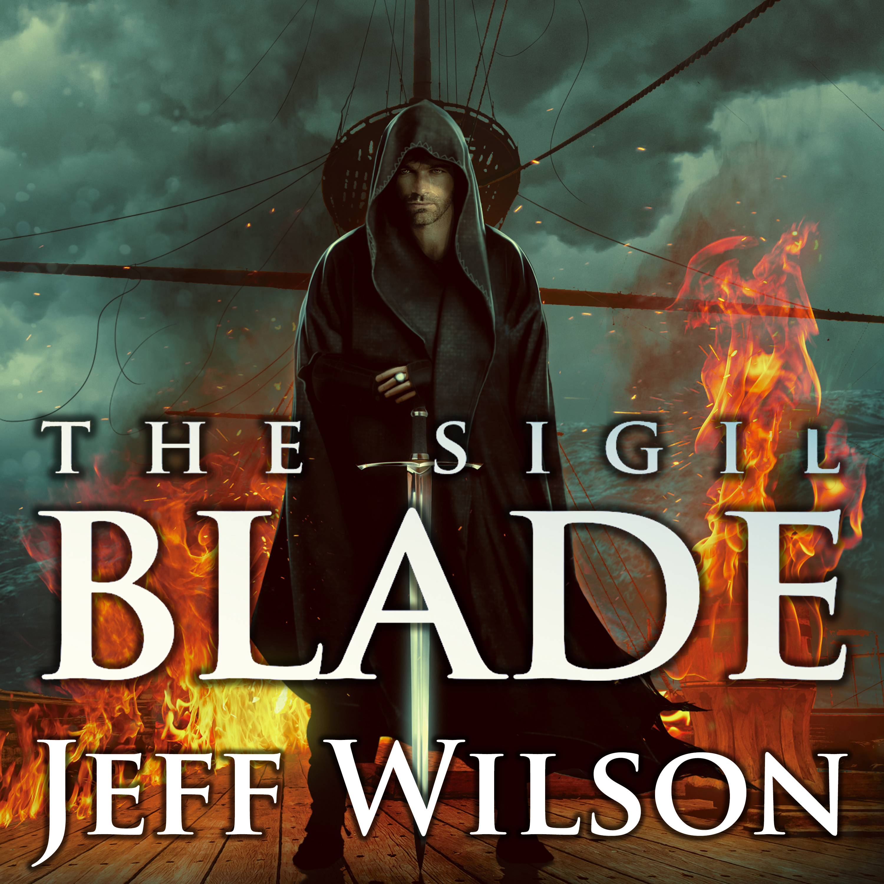 Printable The Sigil Blade Audiobook Cover Art