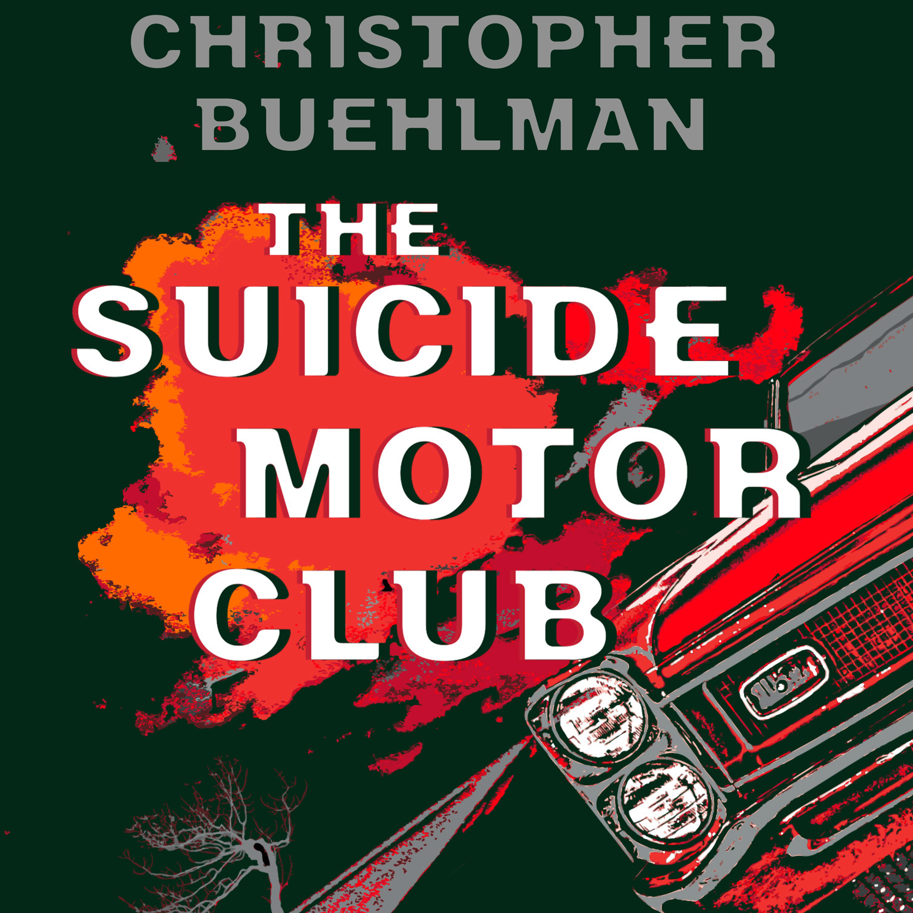 Printable The Suicide Motor Club Audiobook Cover Art