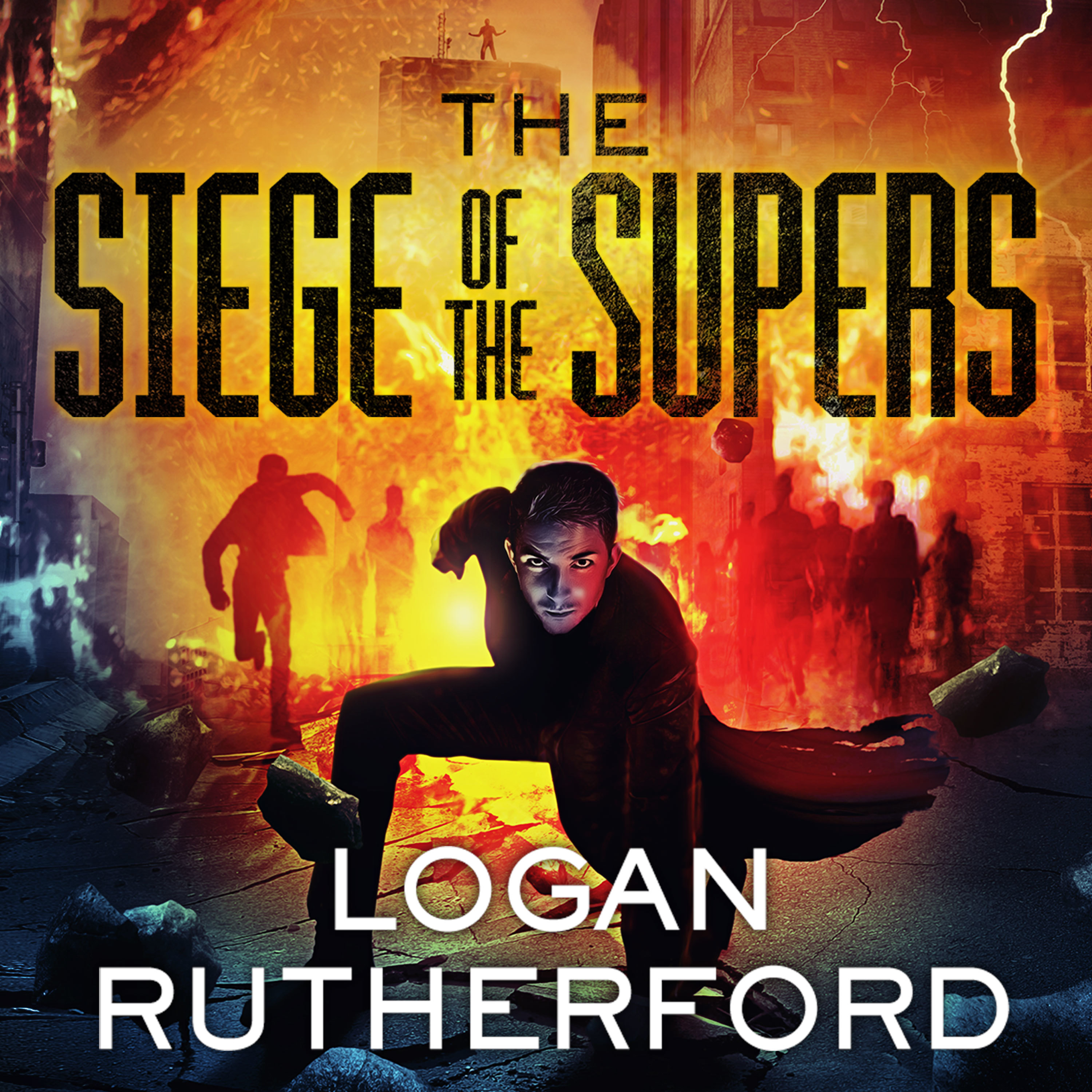 Printable The Siege of the Supers Audiobook Cover Art