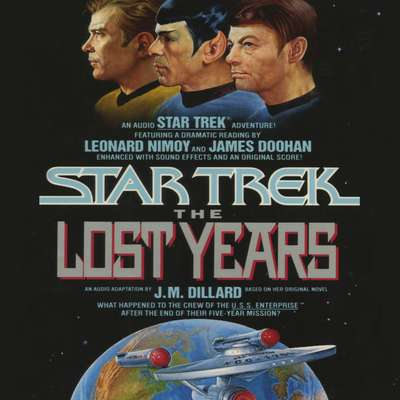 Printable The STAR TREK X: THE LOST YEARS Audiobook Cover Art
