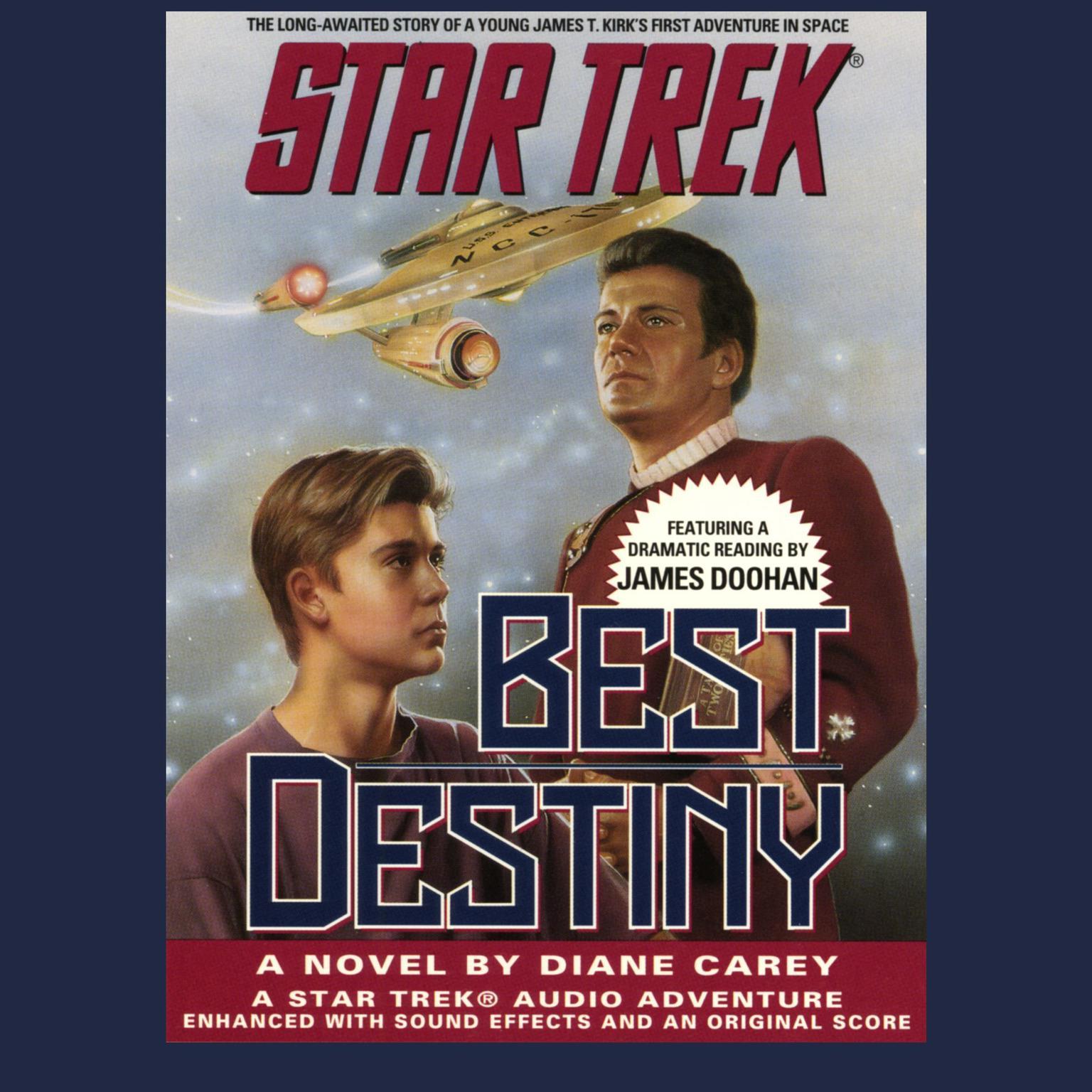 STAR TREK: BEST DESTINY Audiobook, by Diane Carey