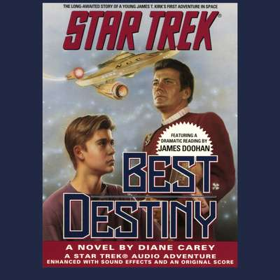 Printable STAR TREK: BEST DESTINY Audiobook Cover Art