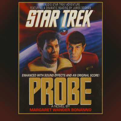 Printable STAR TREK: PROBE Audiobook Cover Art