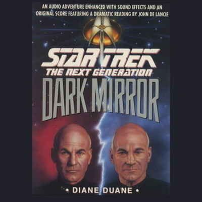 Printable Dark Mirror Audiobook Cover Art