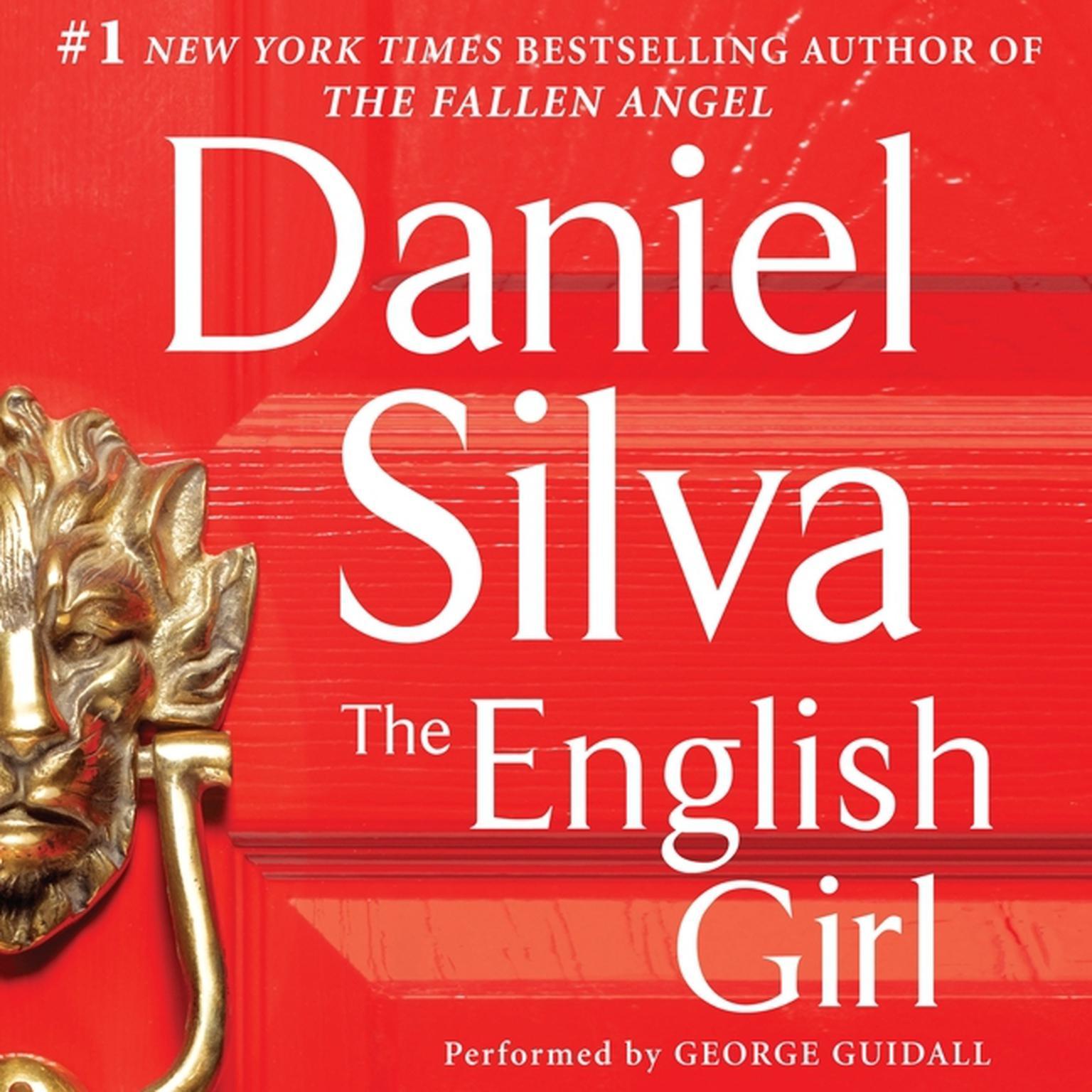 Printable The English Girl Audiobook Cover Art