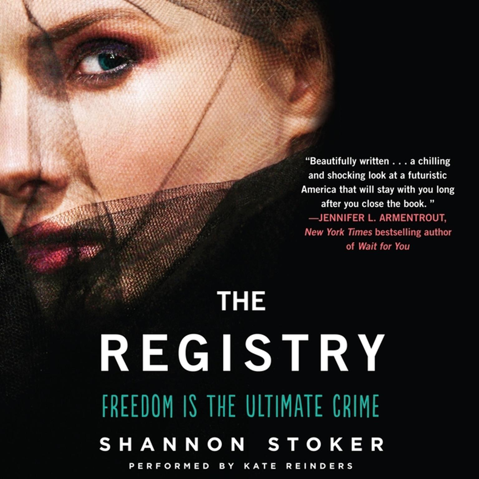 Printable The Registry Audiobook Cover Art