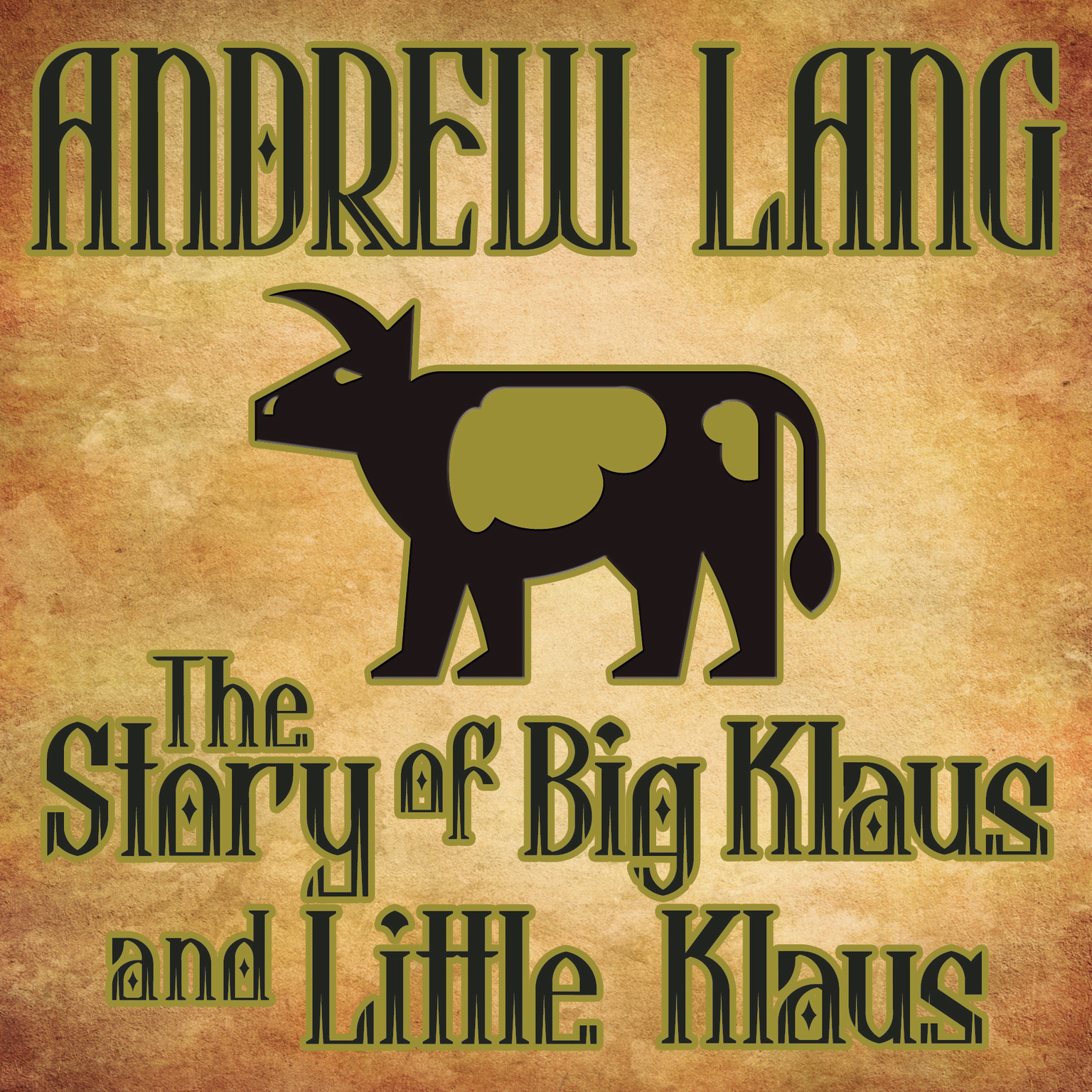 Printable The Story Big Klaus and Little Klaus Audiobook Cover Art
